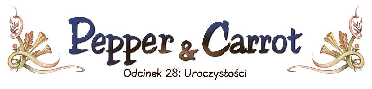 A webcomic page of Pepper&Carrot, odcinek 28 [pl], strona 0