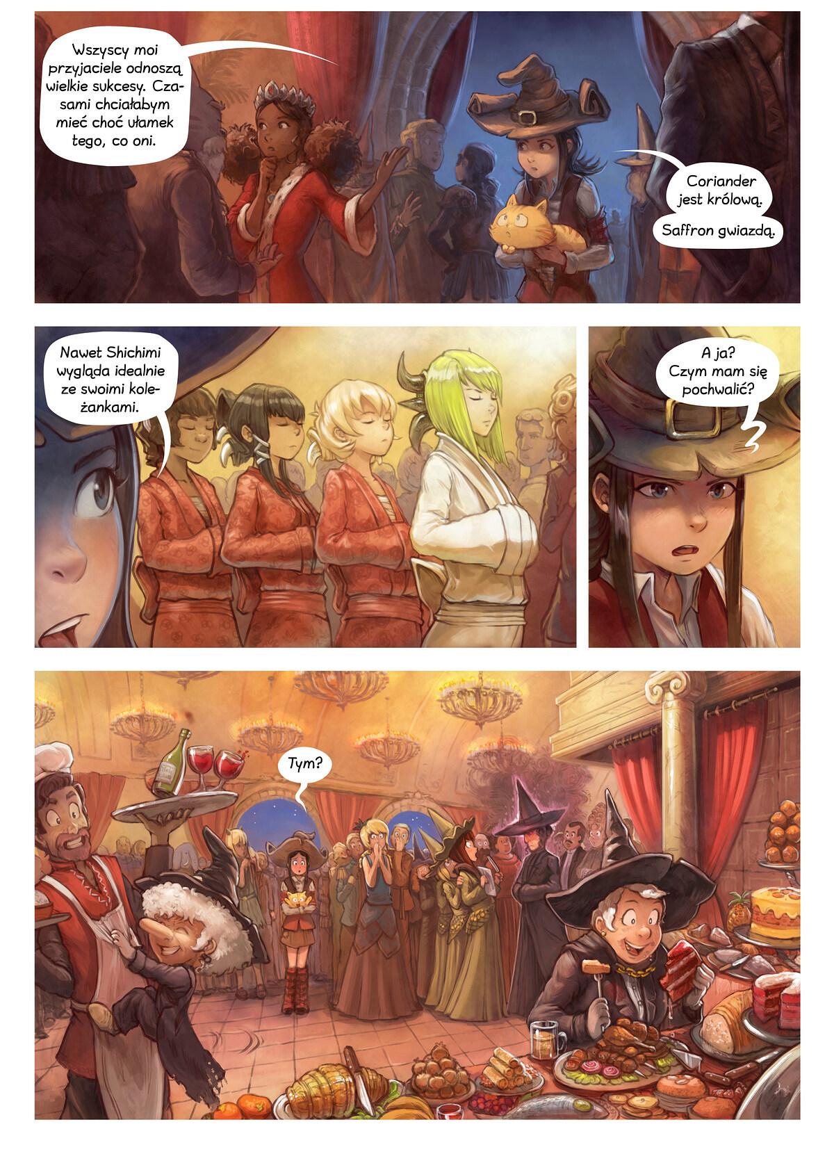 A webcomic page of Pepper&Carrot, odcinek 28 [pl], strona 5