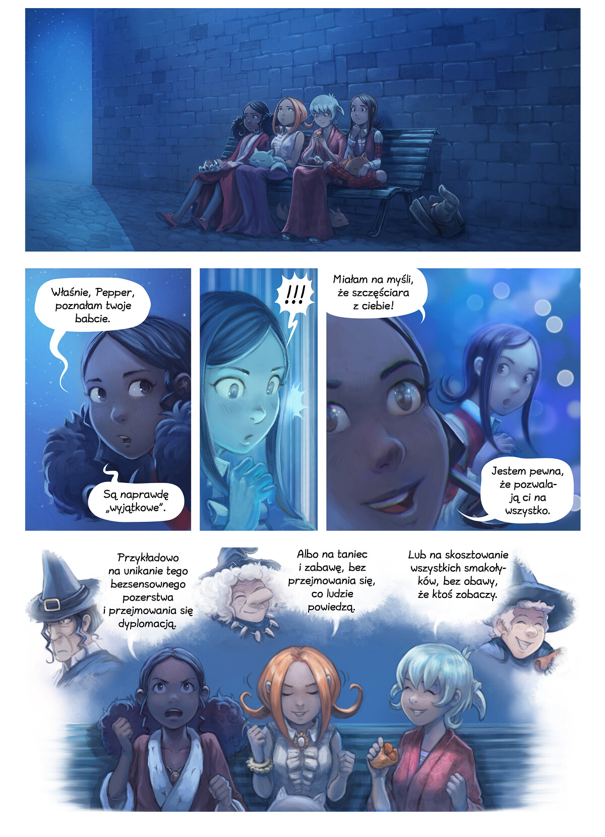 A webcomic page of Pepper&Carrot, odcinek 28 [pl], strona 8
