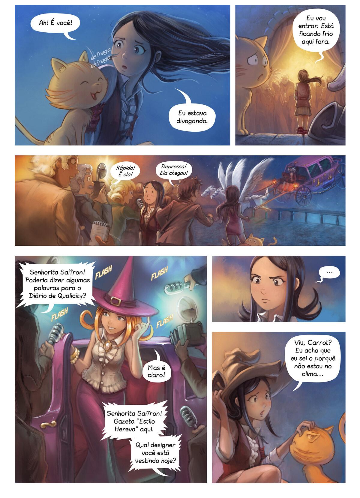A webcomic page of Pepper&Carrot, episódio 28 [pt], página 4