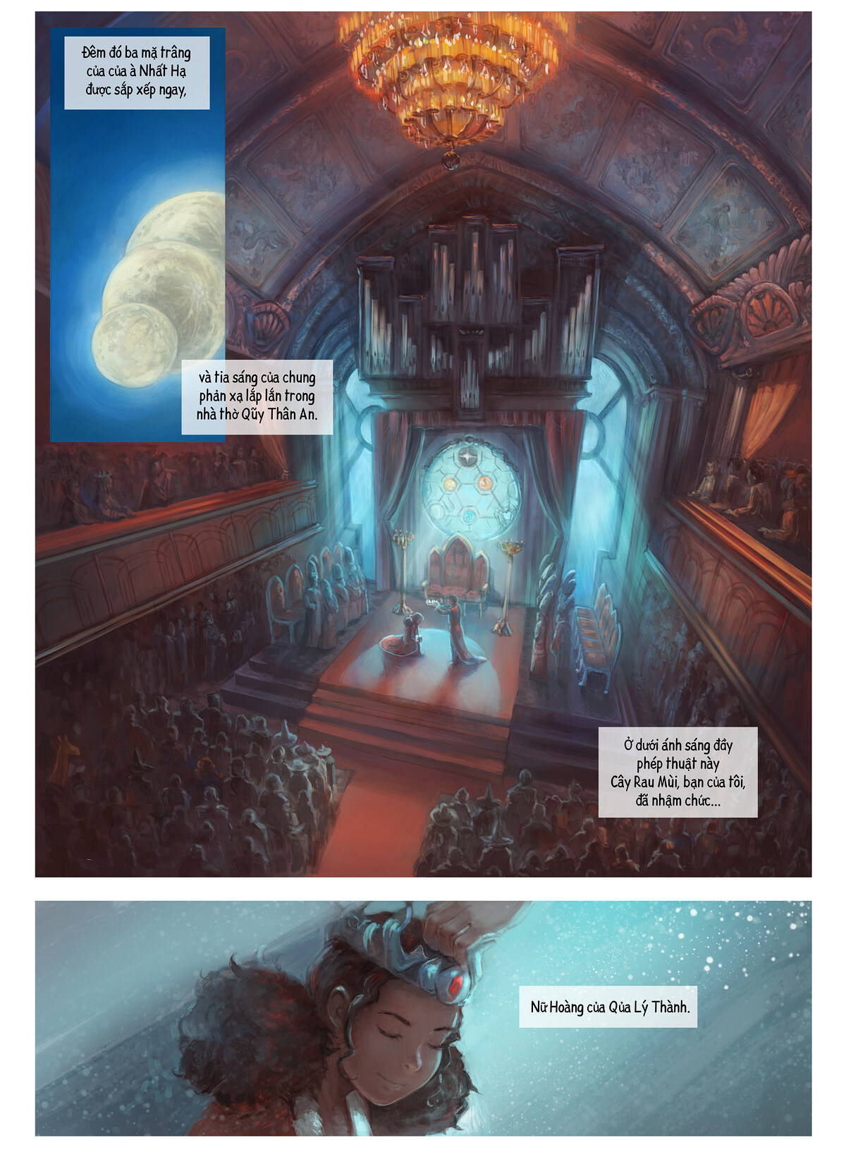 A webcomic page of Pepper&Carrot, Tập 28 [vi], trang 1