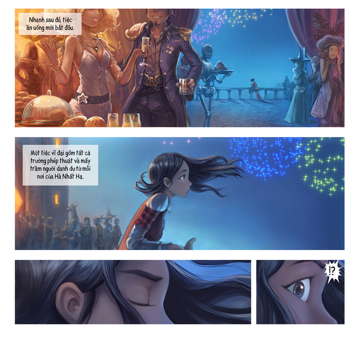 A webcomic page of Pepper&Carrot, Tập 28 [vi], trang 3