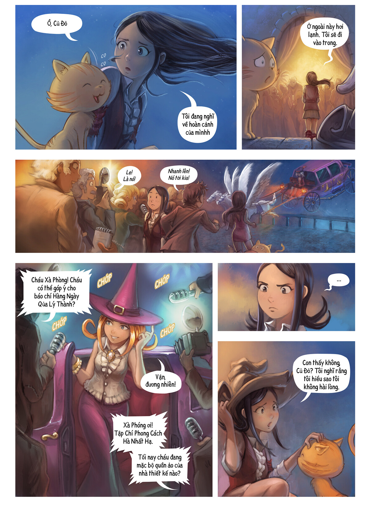 A webcomic page of Pepper&Carrot, Tập 28 [vi], trang 4
