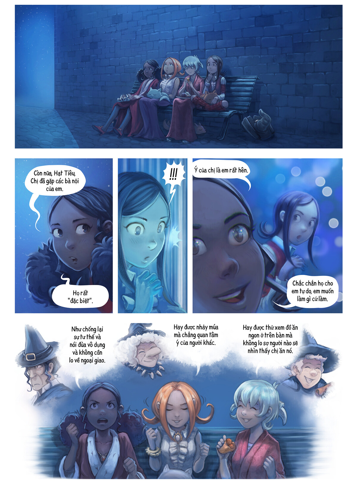 A webcomic page of Pepper&Carrot, Tập 28 [vi], trang 8