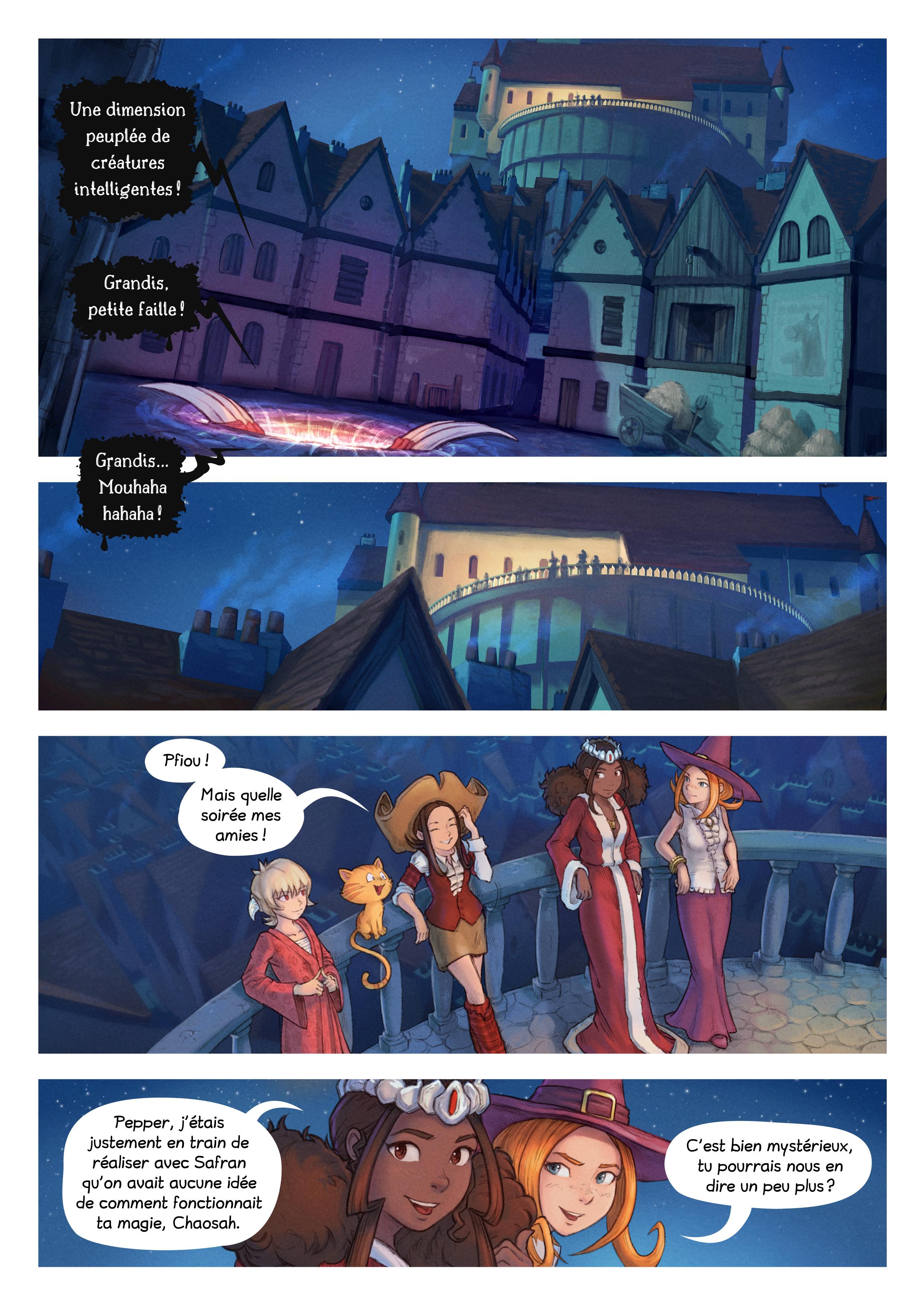 A webcomic page of Pepper&Carrot, épisode 29 [fr], page 2