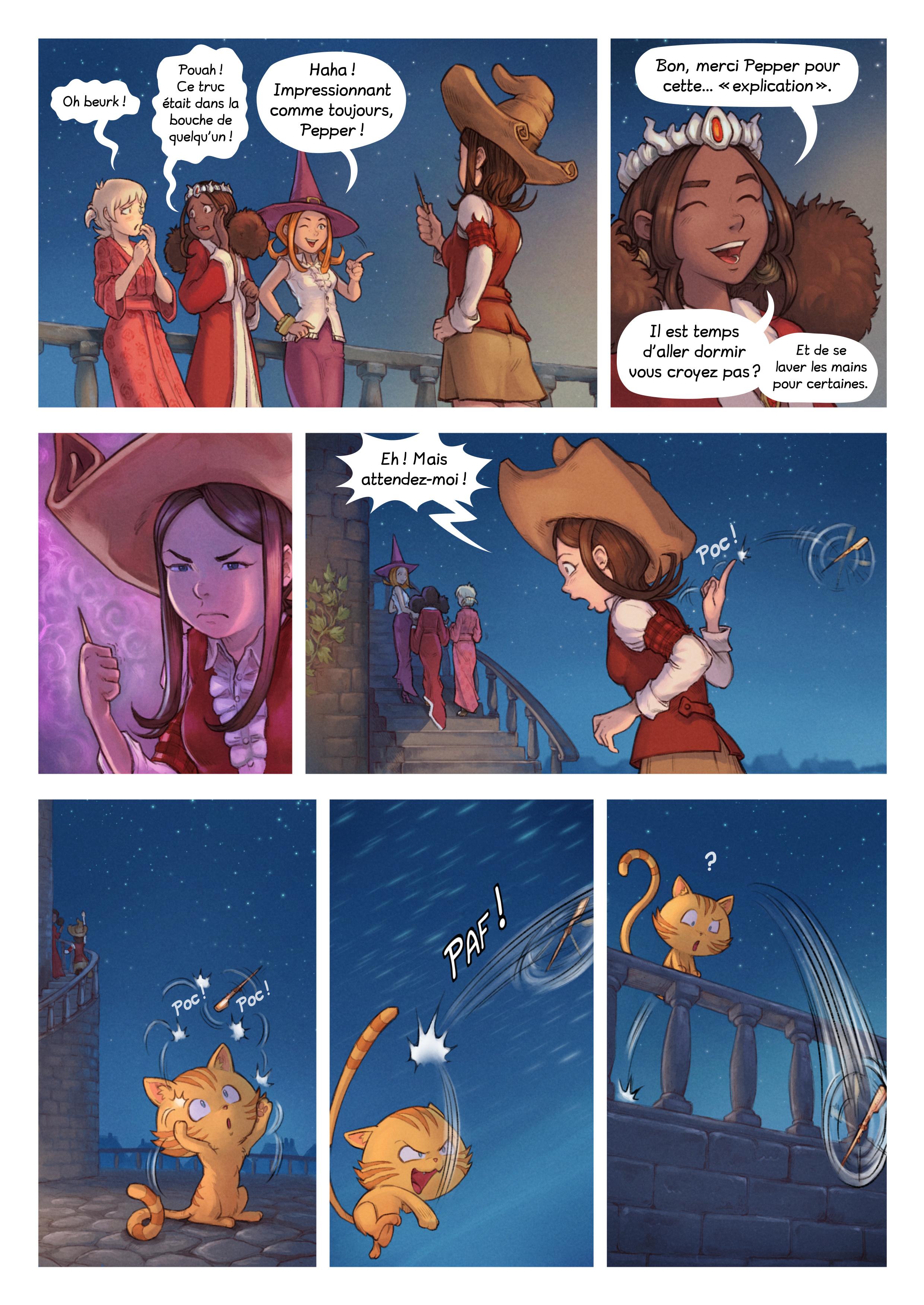 A webcomic page of Pepper&Carrot, épisode 29 [fr], page 4