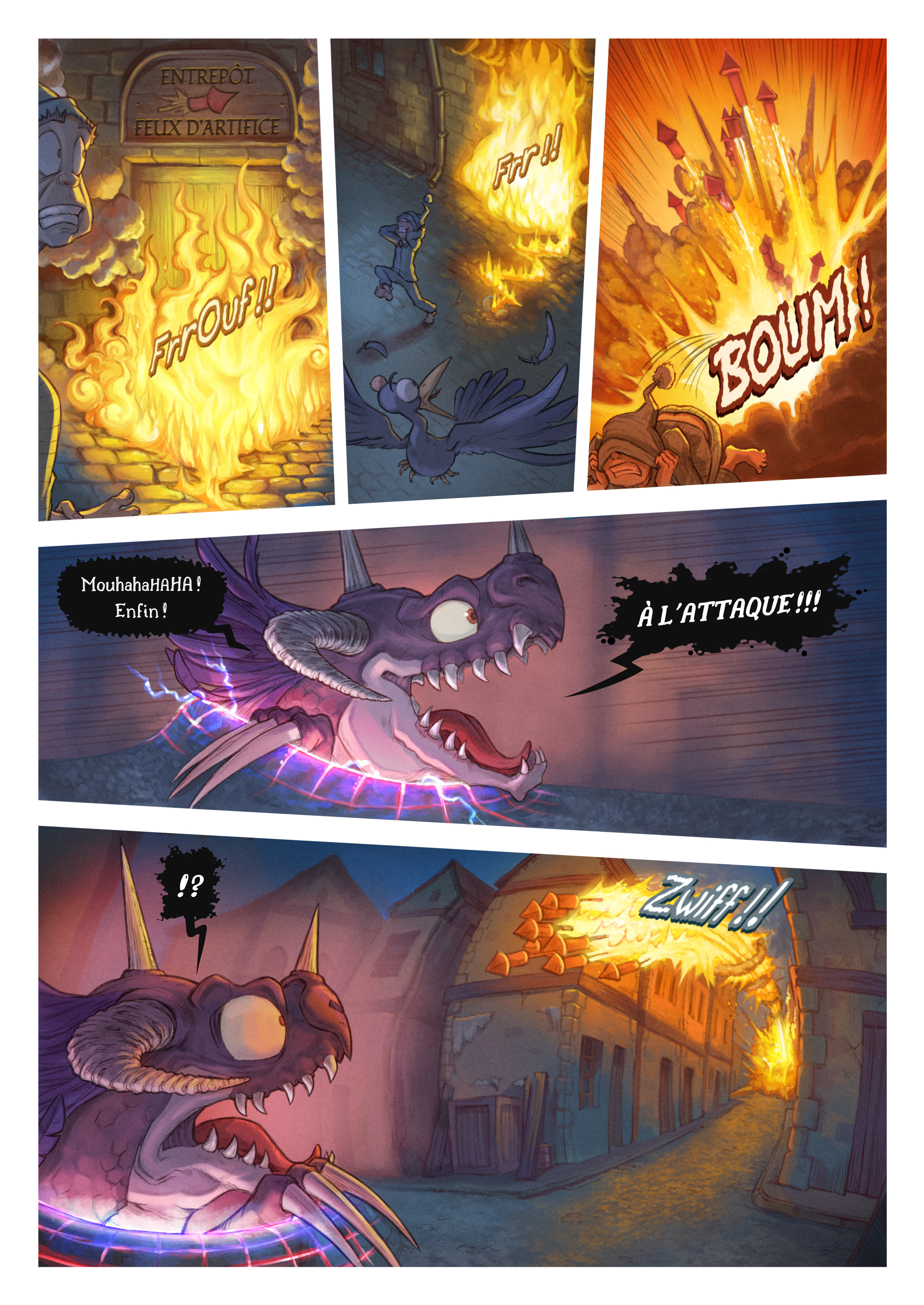 A webcomic page of Pepper&Carrot, épisode 29 [fr], page 6