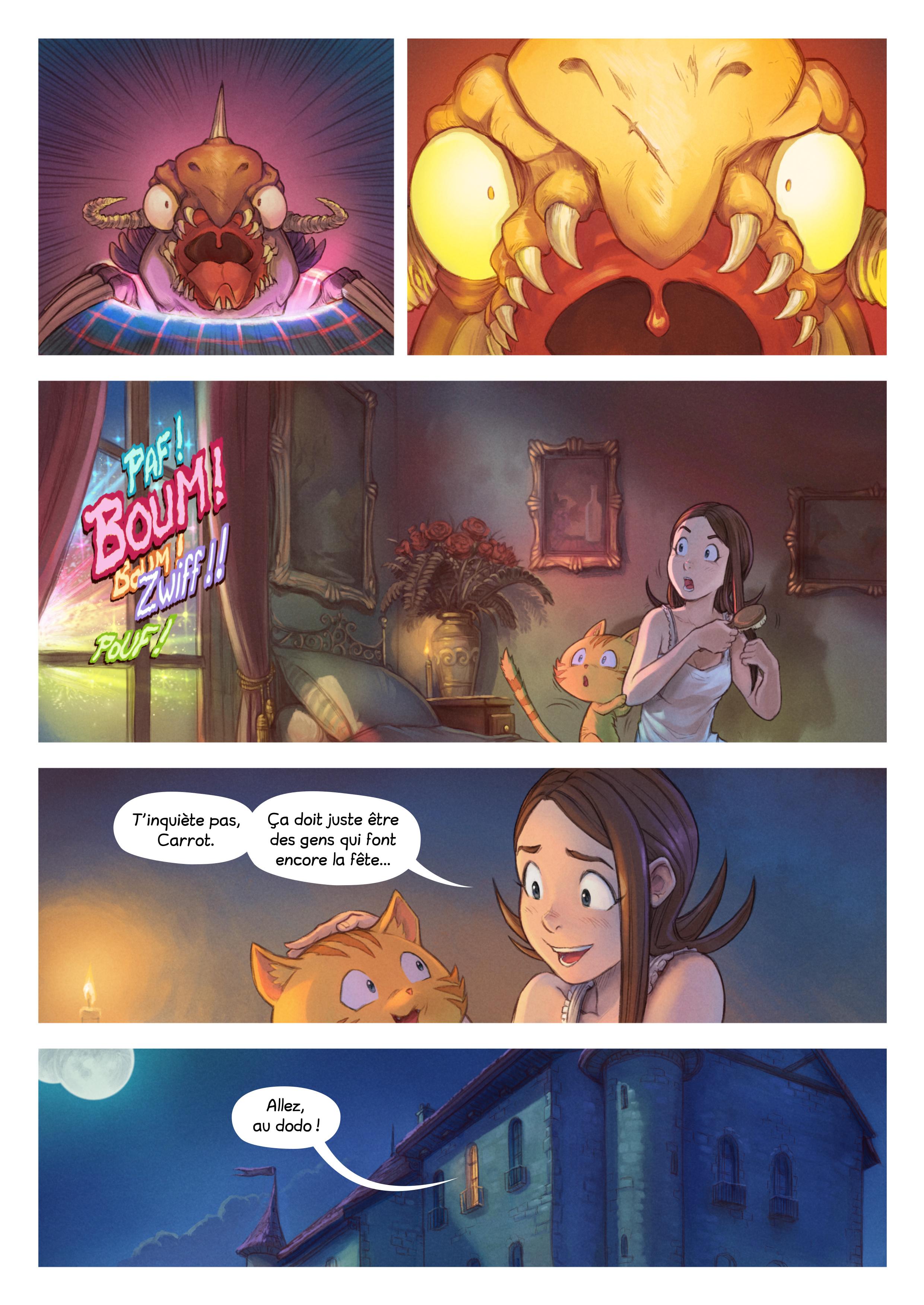 A webcomic page of Pepper&Carrot, épisode 29 [fr], page 7