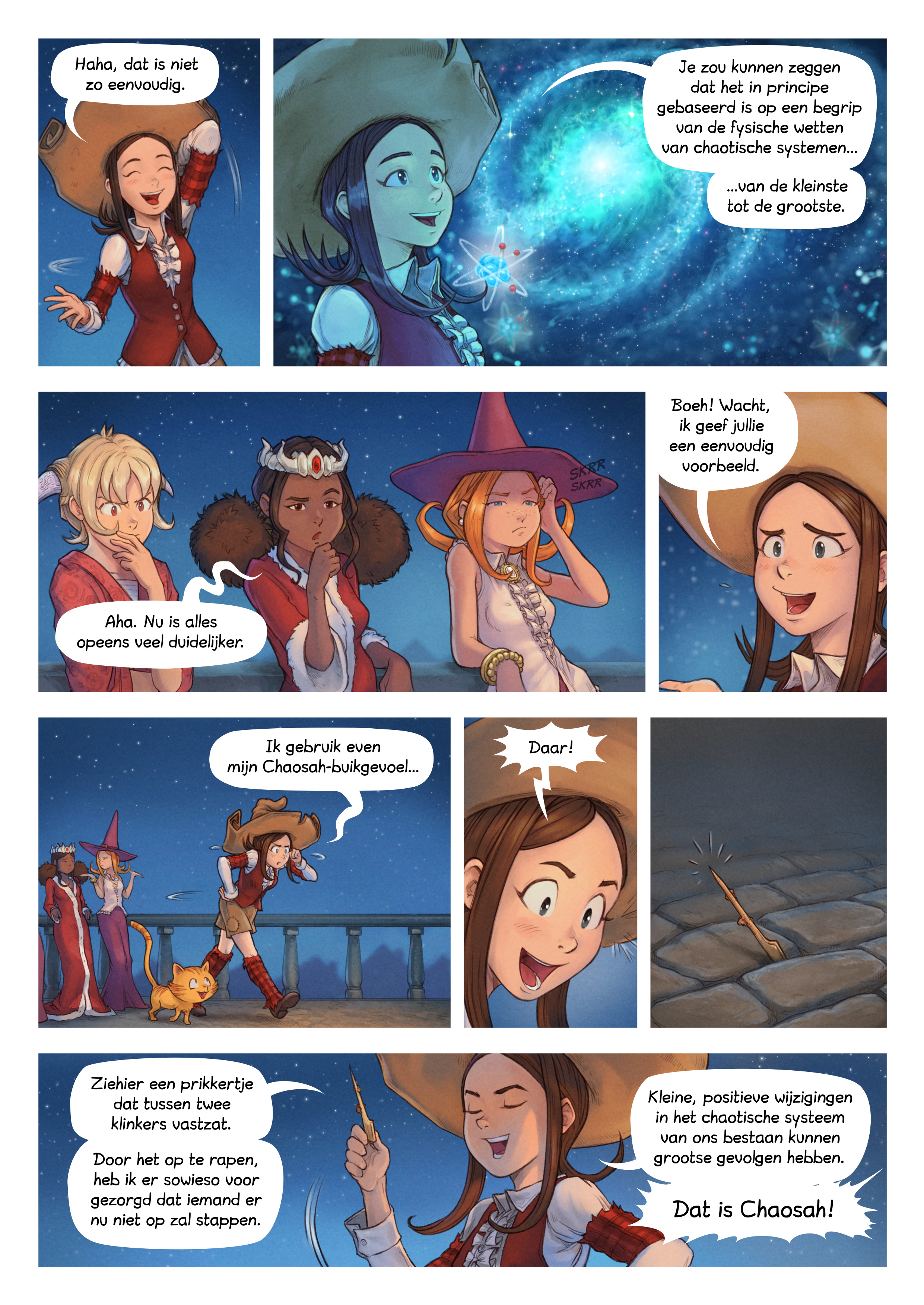 A webcomic page of Pepper&Carrot, aflevering 29 [nl], pagina 3
