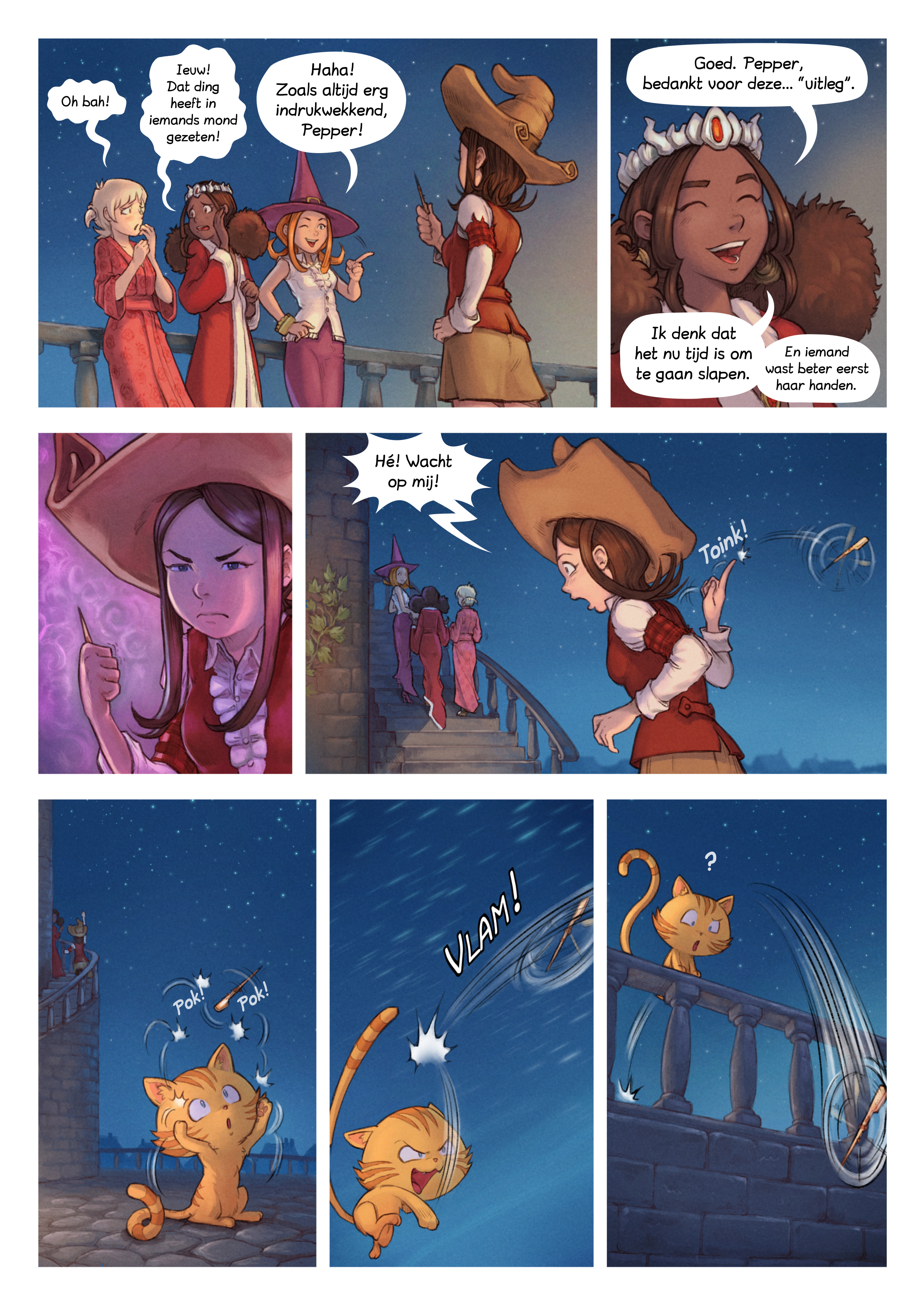 A webcomic page of Pepper&Carrot, aflevering 29 [nl], pagina 4