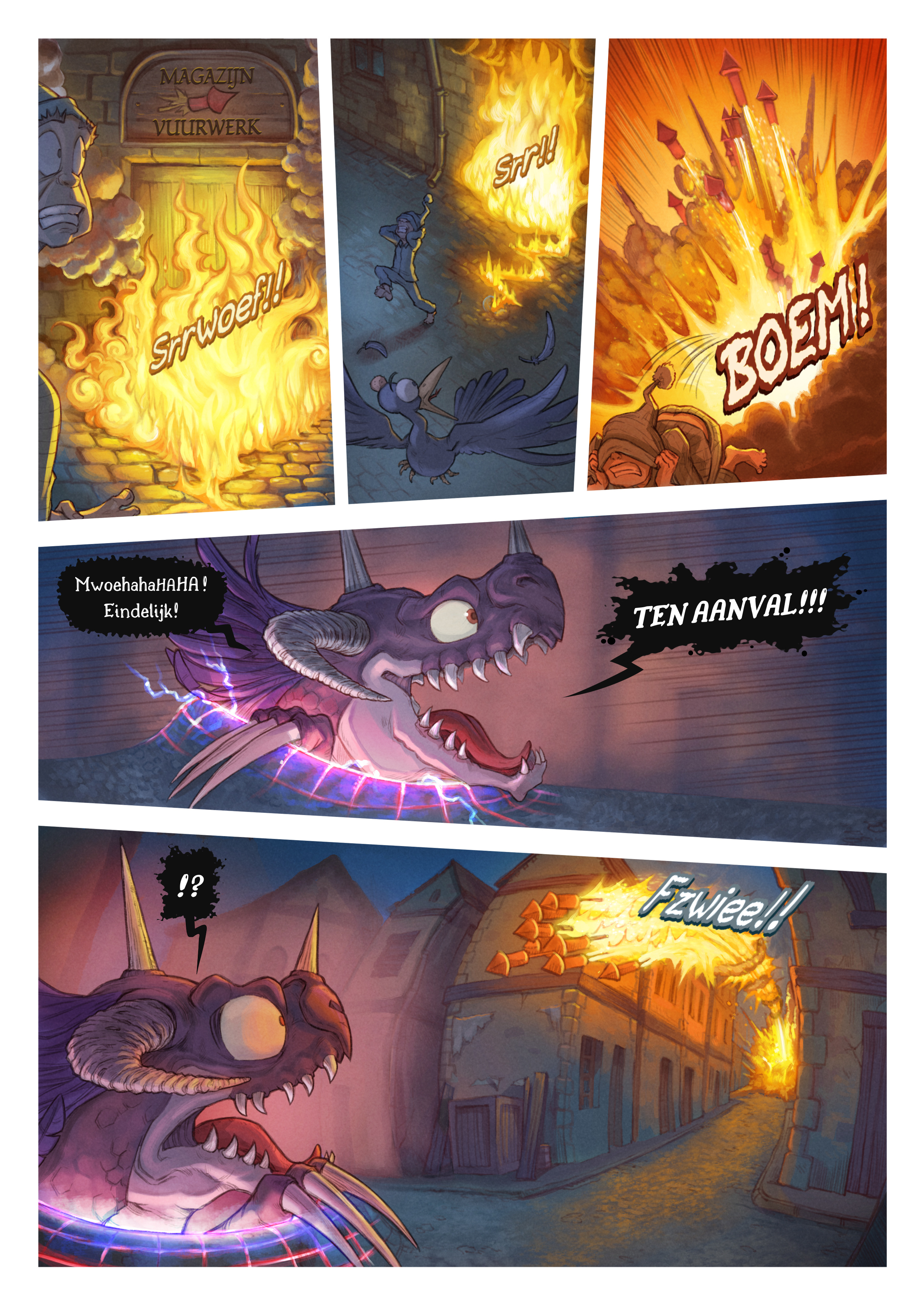 A webcomic page of Pepper&Carrot, aflevering 29 [nl], pagina 6