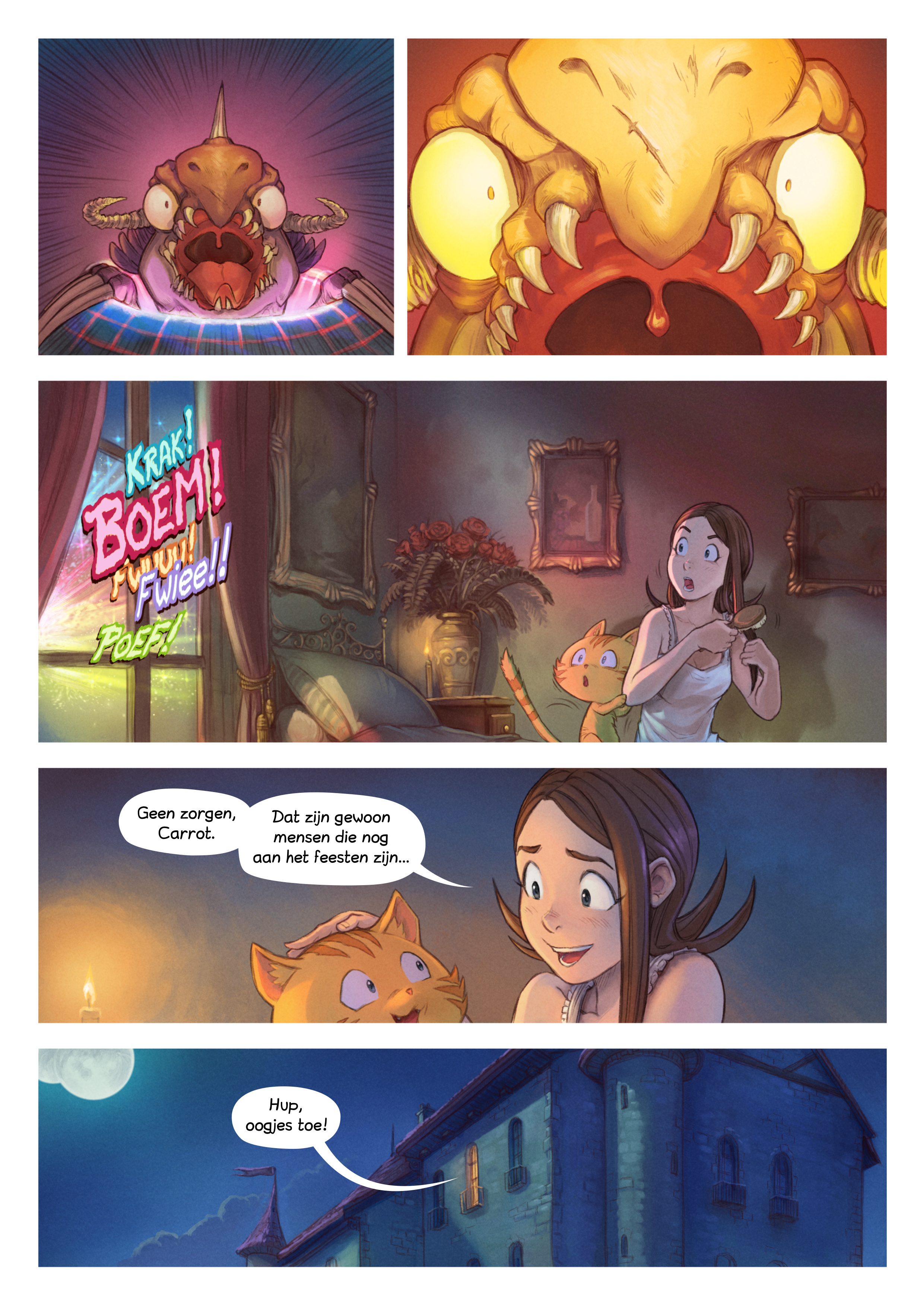 A webcomic page of Pepper&Carrot, aflevering 29 [nl], pagina 7