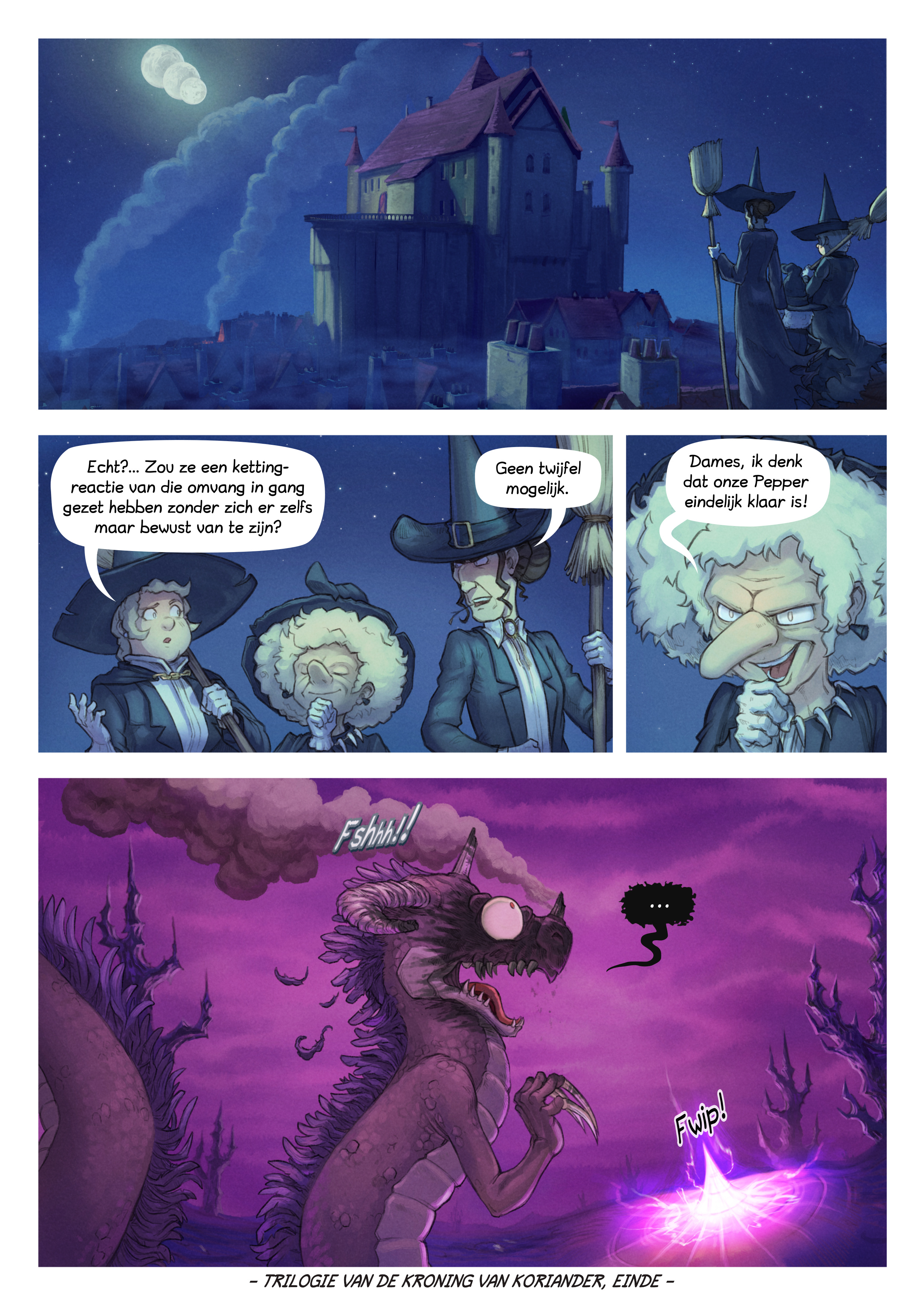 A webcomic page of Pepper&Carrot, aflevering 29 [nl], pagina 8