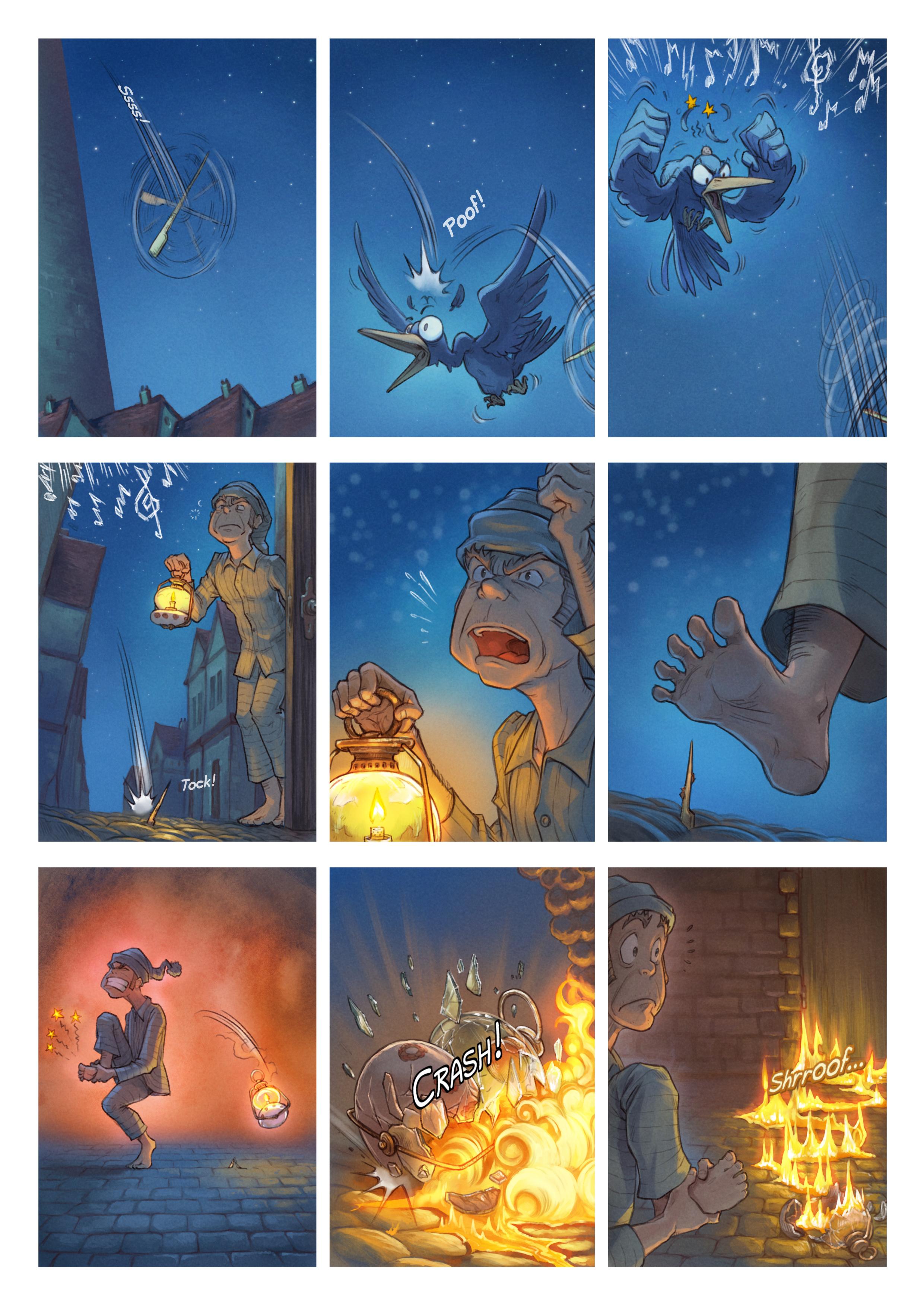 A webcomic page of Pepper&Carrot, episódio 29 [pt], página 5