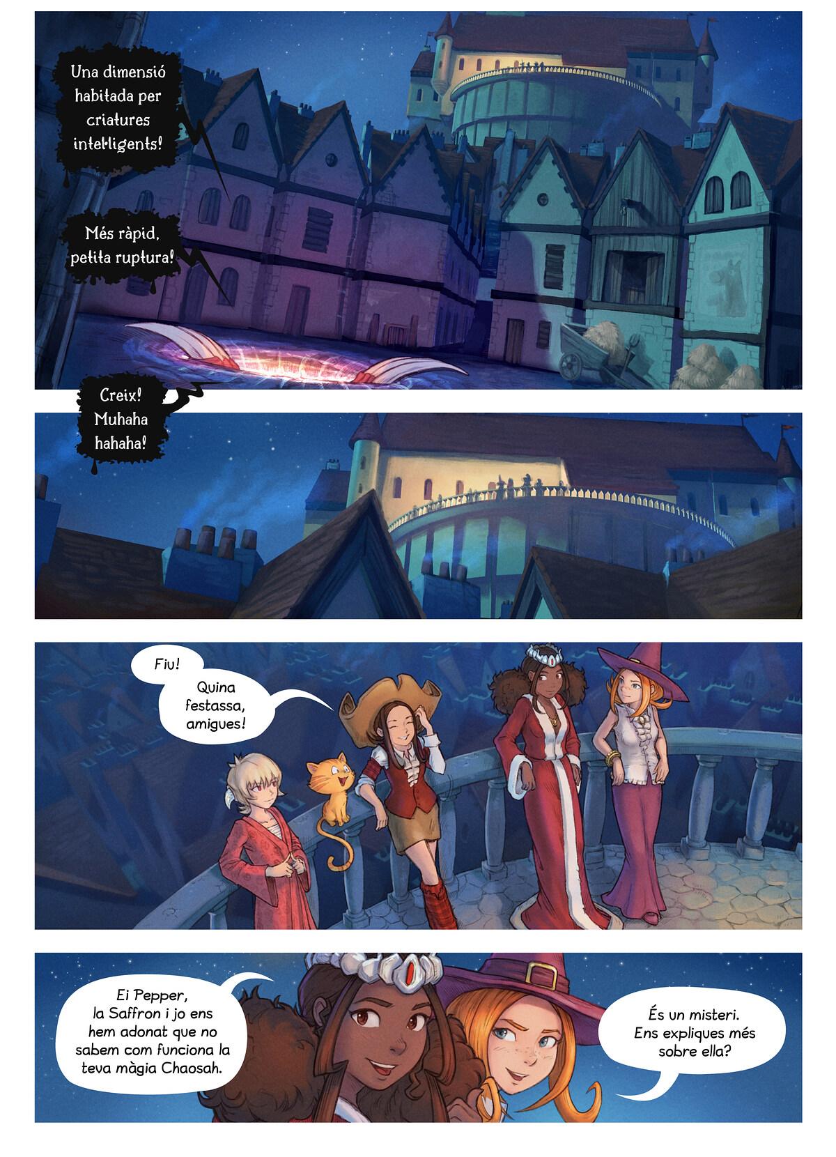 A webcomic page of Pepper&Carrot, episodi 29 [ca], pàgina 2