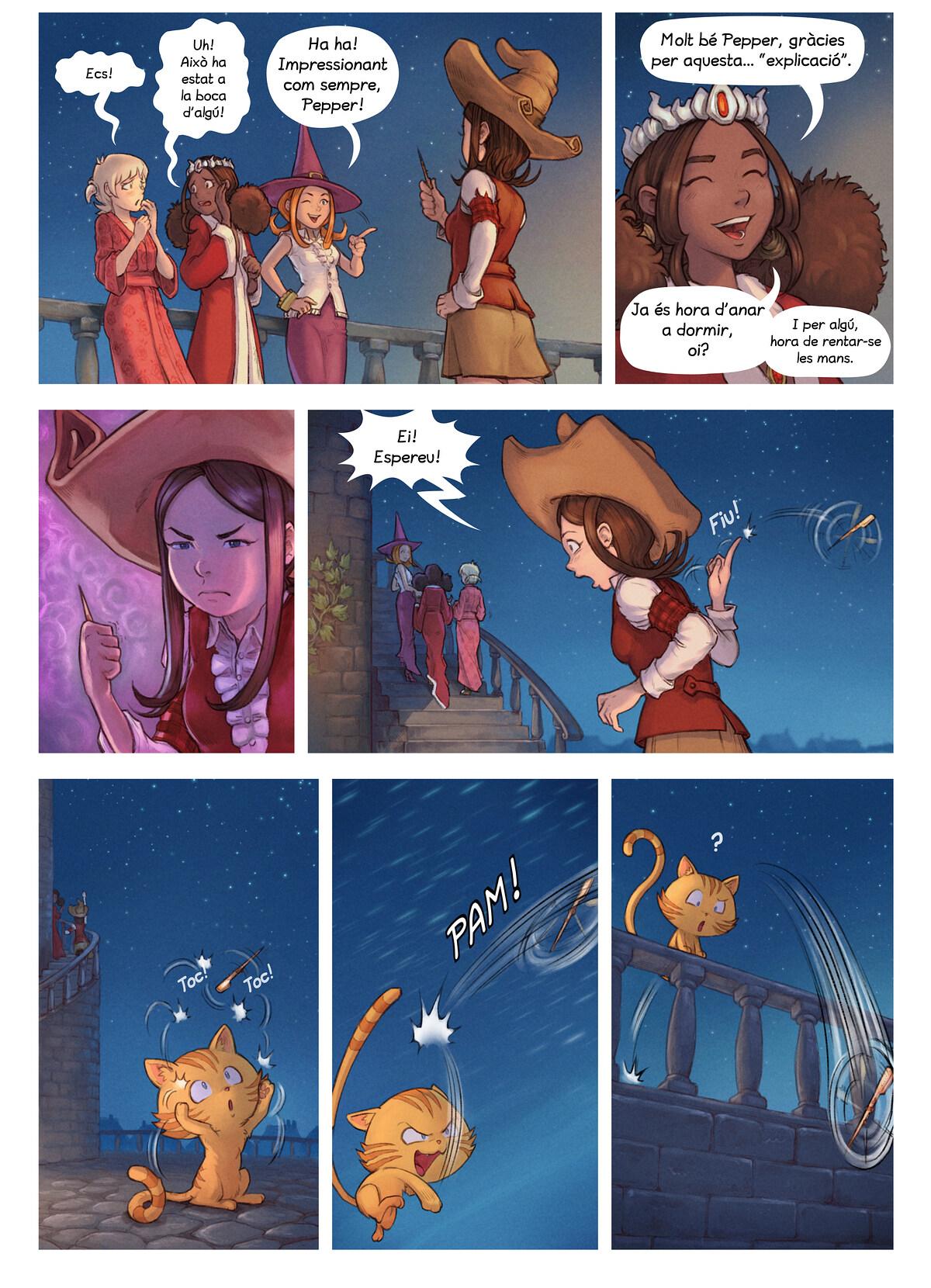 A webcomic page of Pepper&Carrot, episodi 29 [ca], pàgina 4