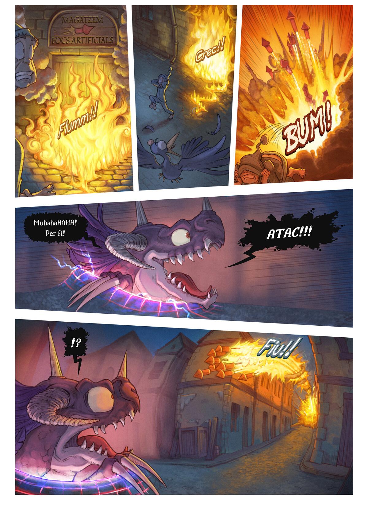 A webcomic page of Pepper&Carrot, episodi 29 [ca], pàgina 6