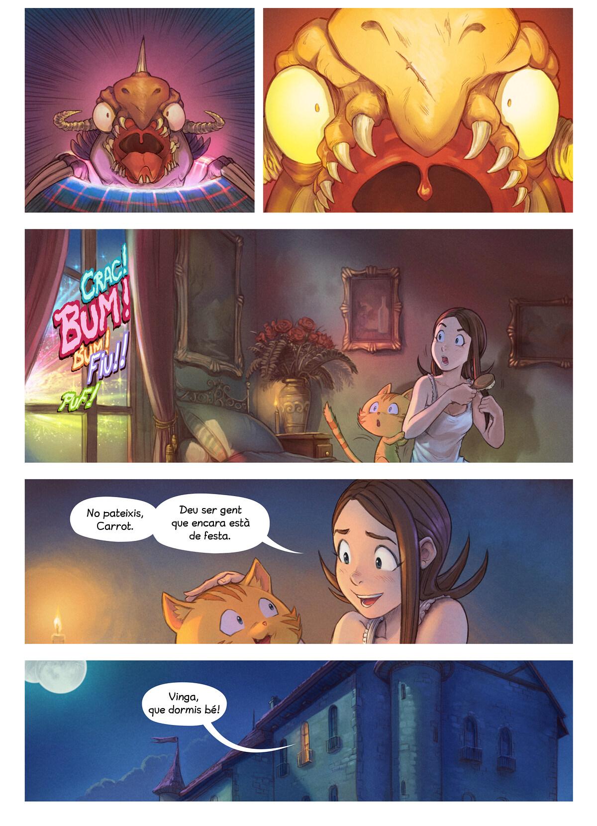 A webcomic page of Pepper&Carrot, episodi 29 [ca], pàgina 7