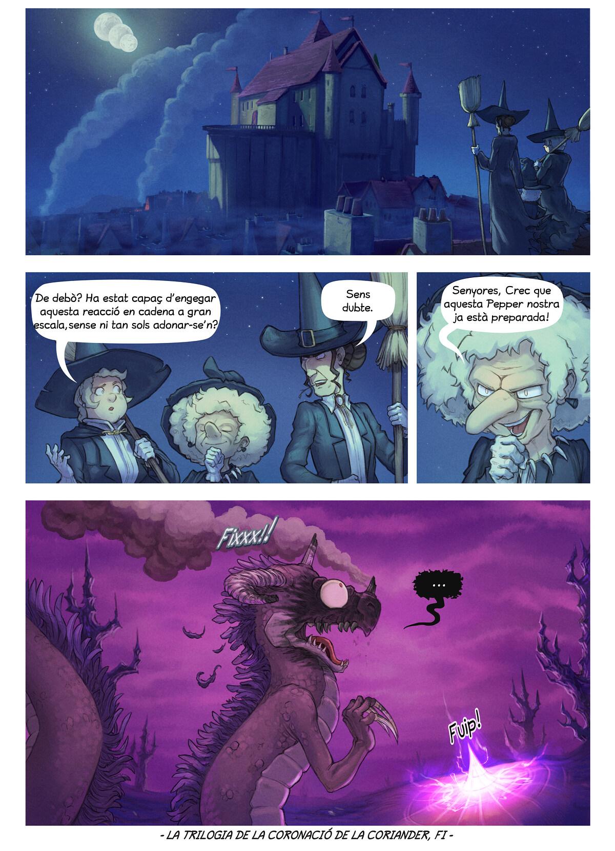 A webcomic page of Pepper&Carrot, episodi 29 [ca], pàgina 8