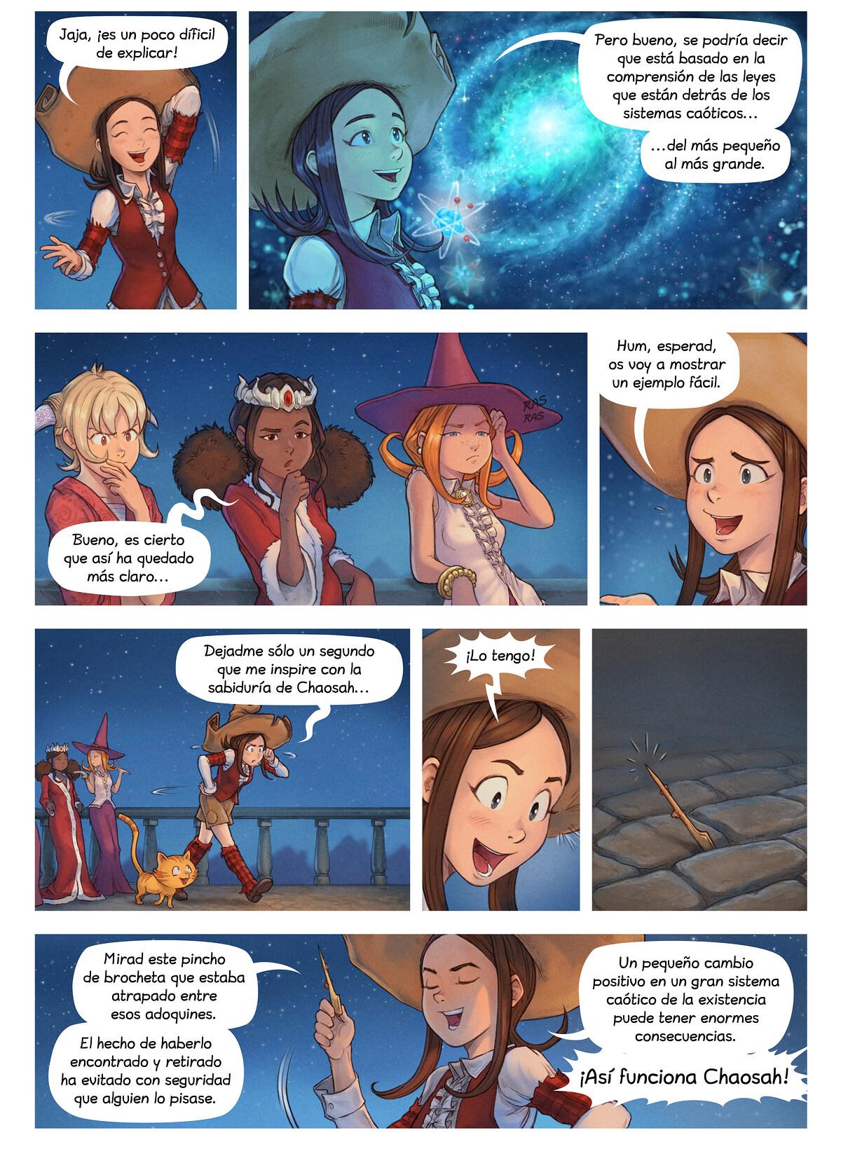 A webcomic page of Pepper&Carrot, episodio 29 [es], página 3