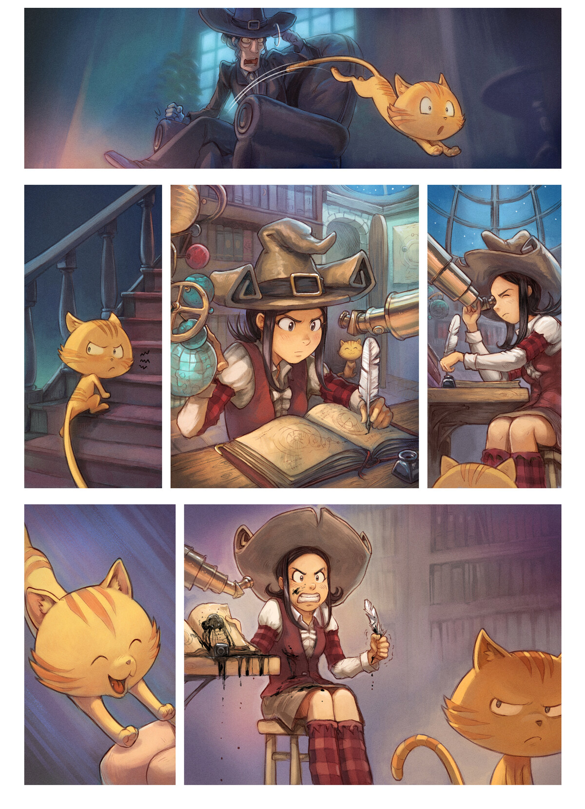 A webcomic page of Pepper&Carrot, 漫画全集 30 [cn], 页面 3