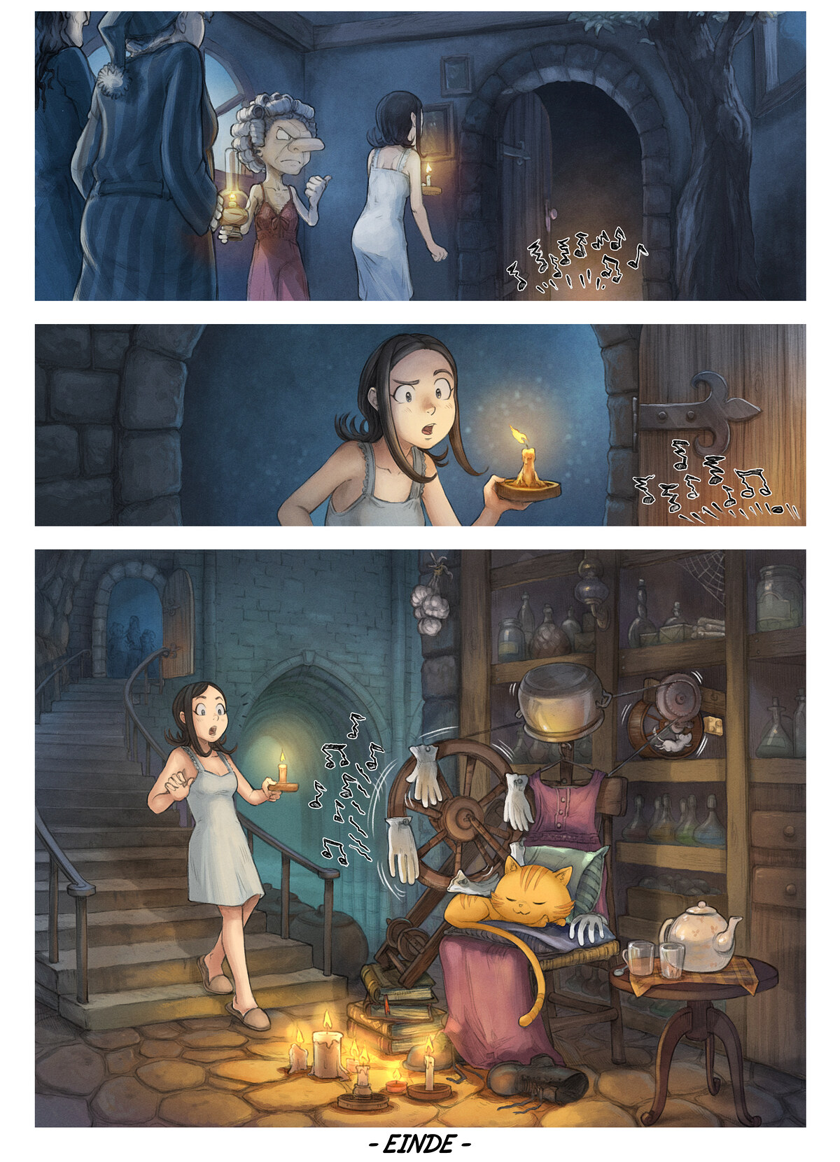A webcomic page of Pepper&Carrot, aflevering 30 [nl], pagina 6