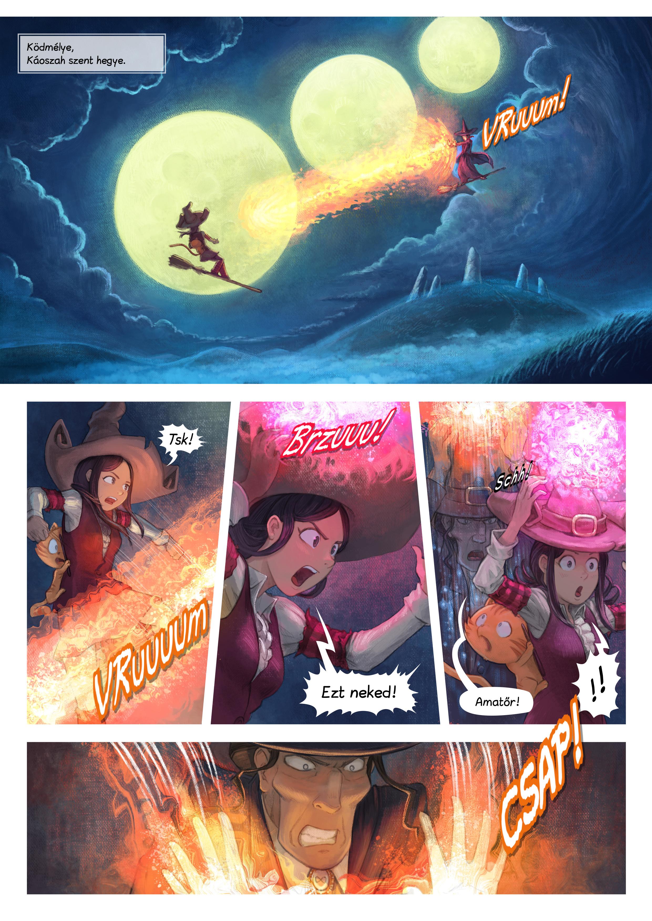 31. rész: A harc, Page 1