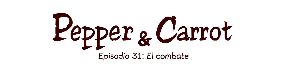 A webcomic page of Pepper&Carrot, episodio 31 [es], página 0