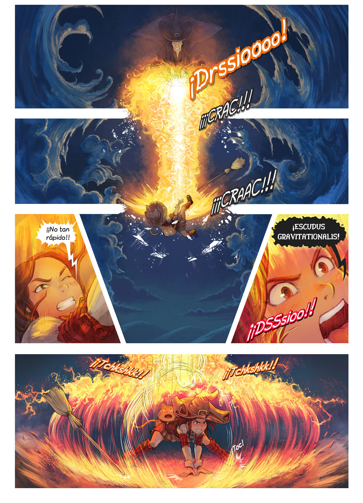 A webcomic page of Pepper&Carrot, episodio 31 [es], página 2