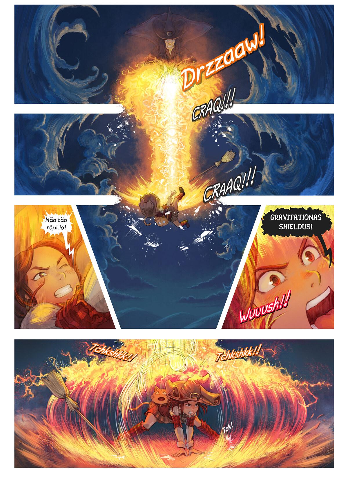 A webcomic page of Pepper&Carrot, episódio 31 [pt], página 2