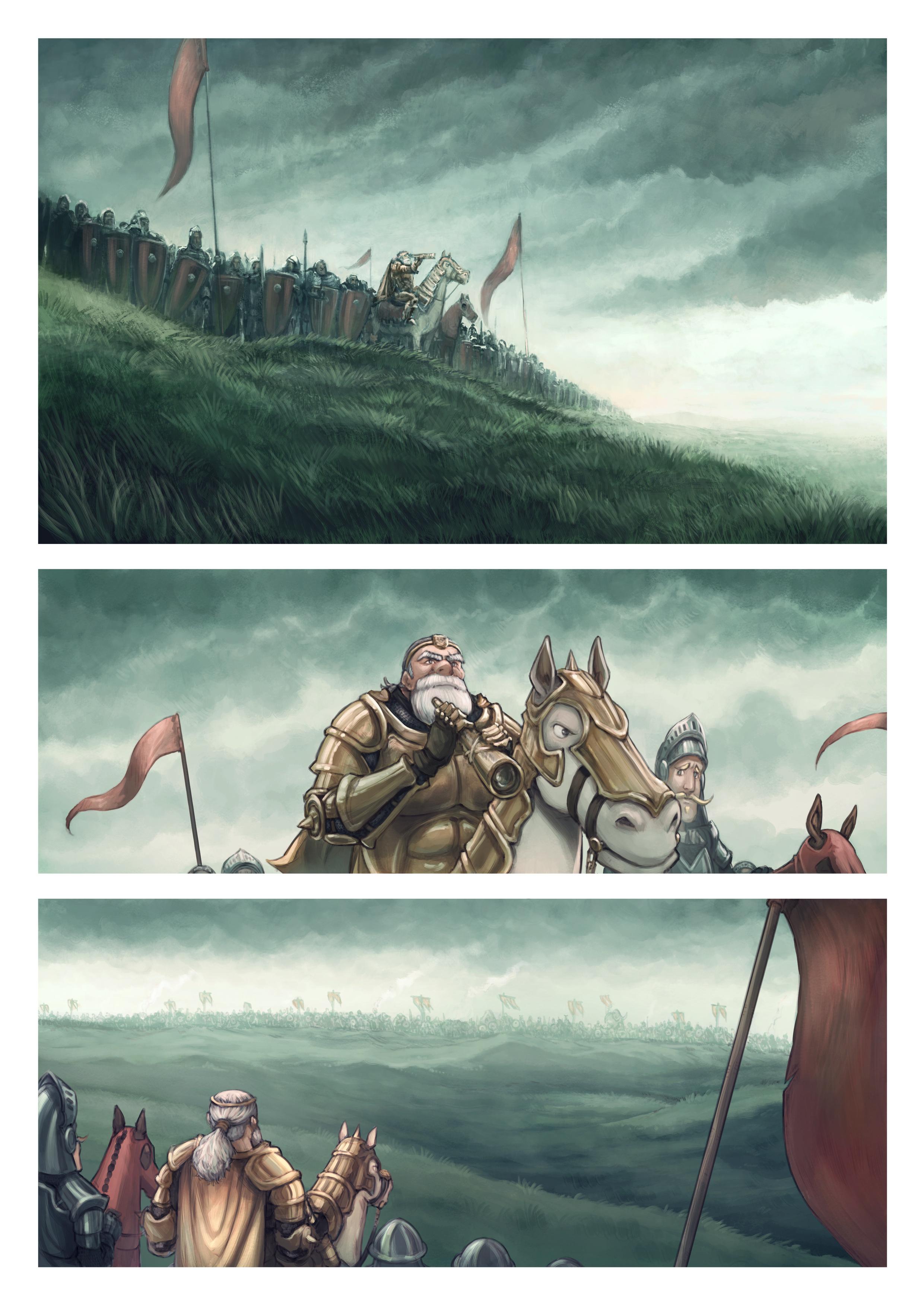 Épisode 32 : Le champ de bataille, Page 1