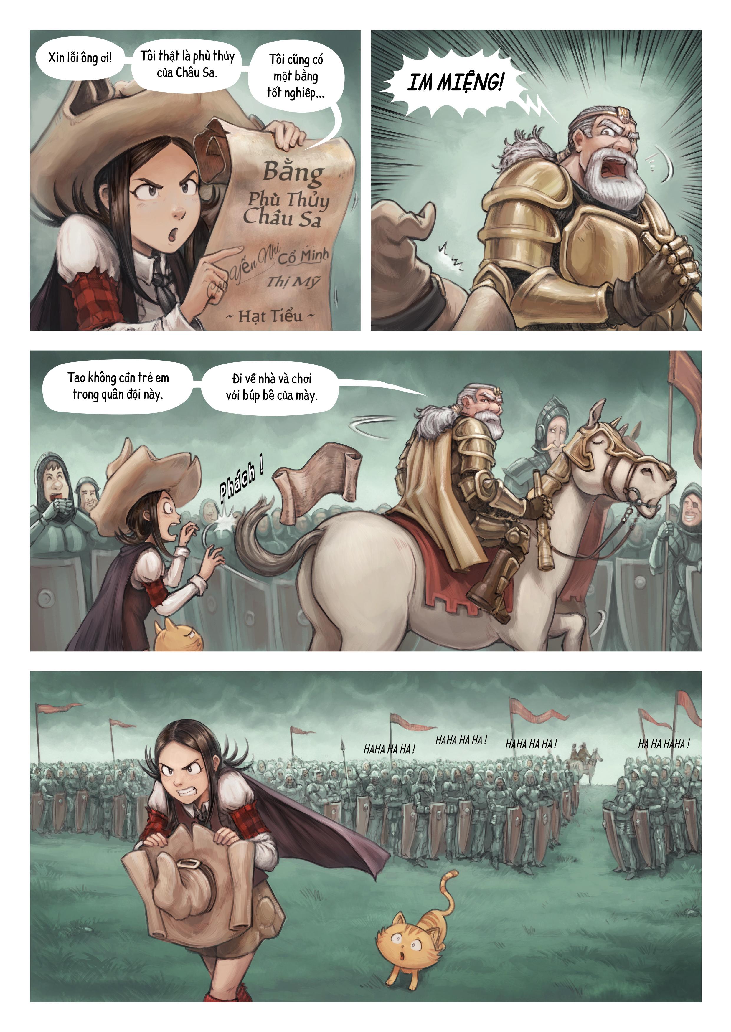 Tập 32: Chiến Trường, Trang 3