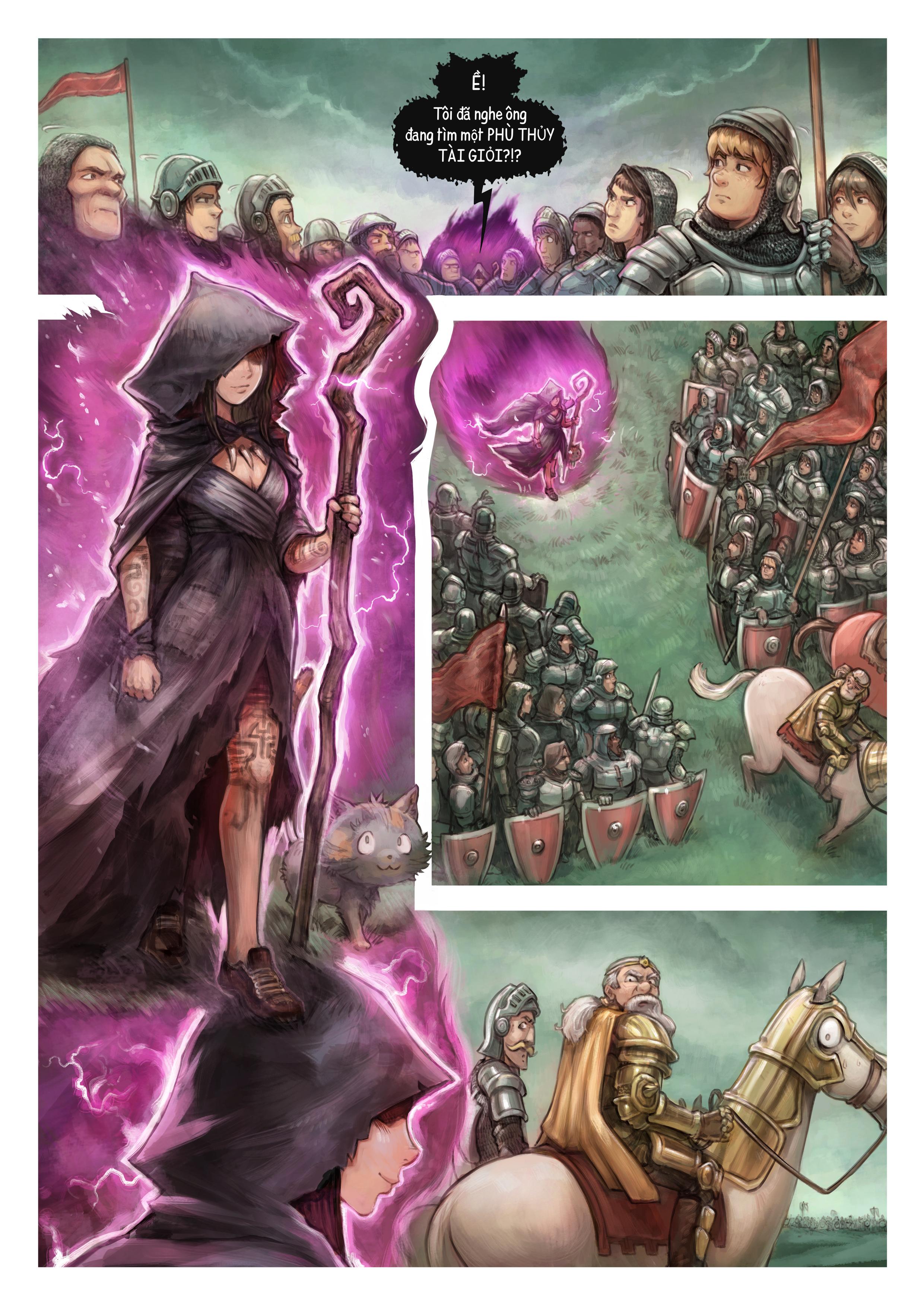 Tập 32: Chiến Trường, Trang 6