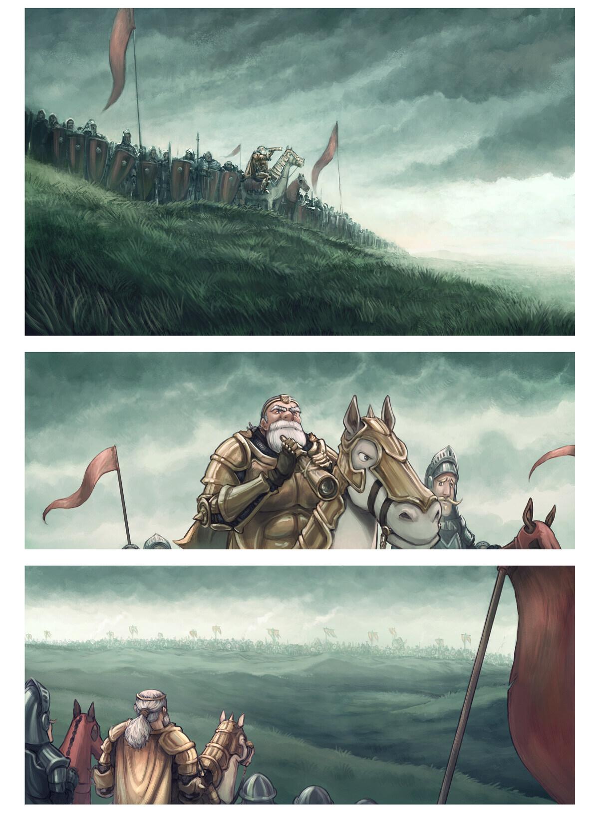 Episódio 32: O Campo de Batalha, Page 1