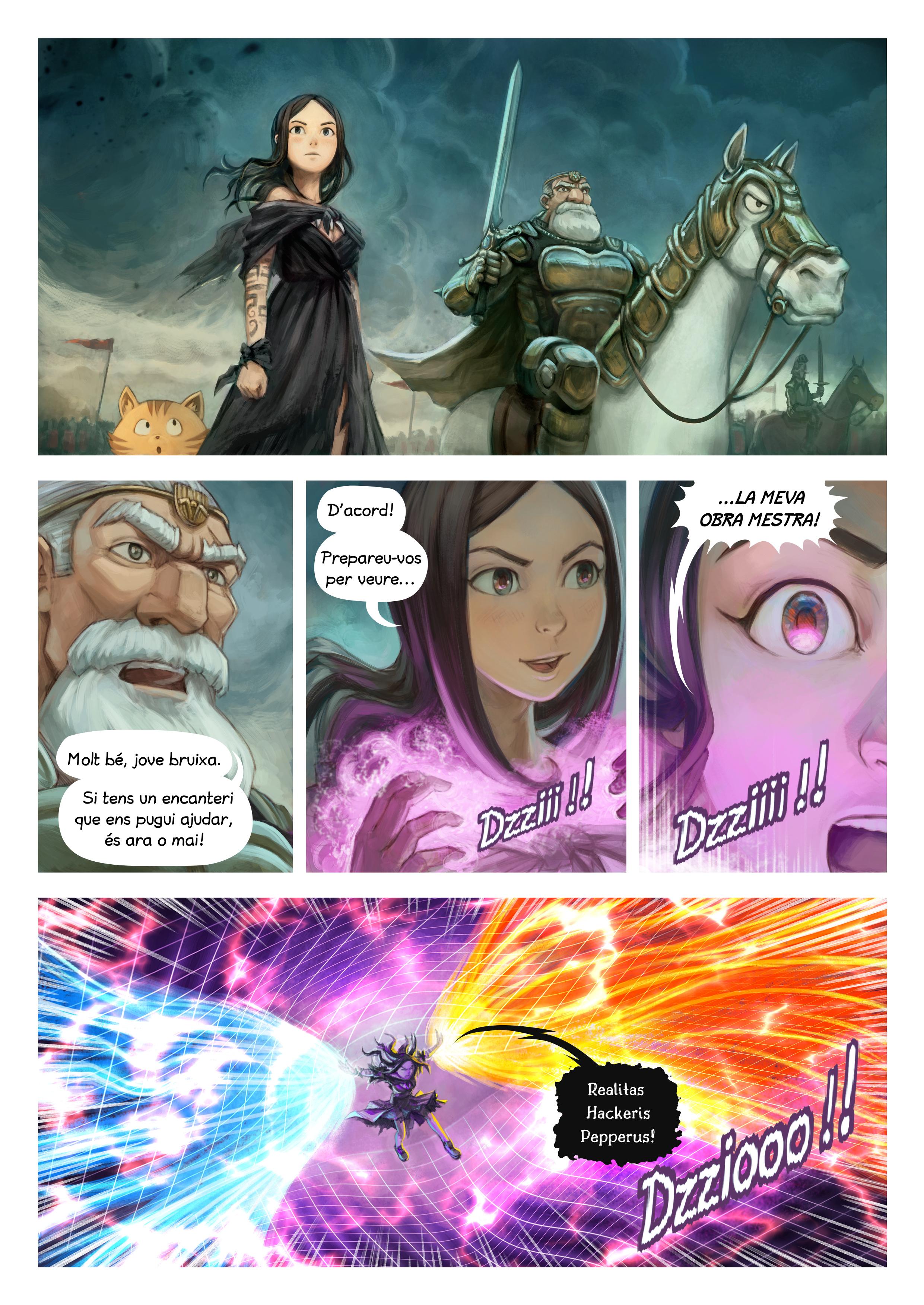 Episodi 33: Encanteri de guerra, Page 2