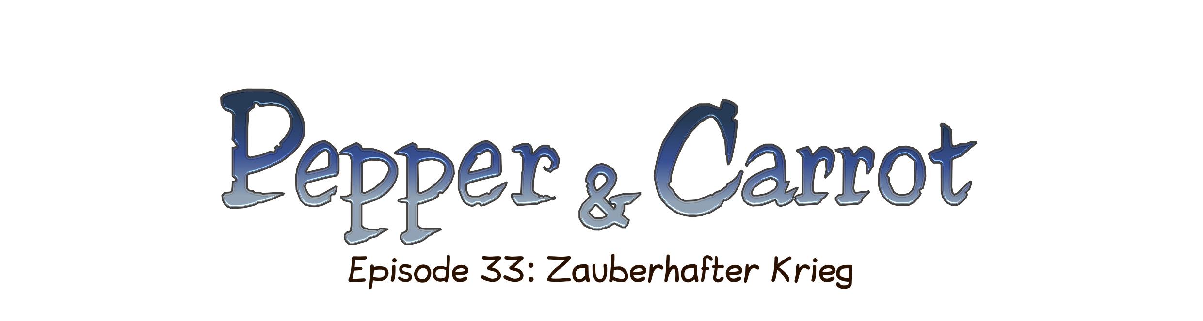 Episode 33: Zauberhafter Krieg