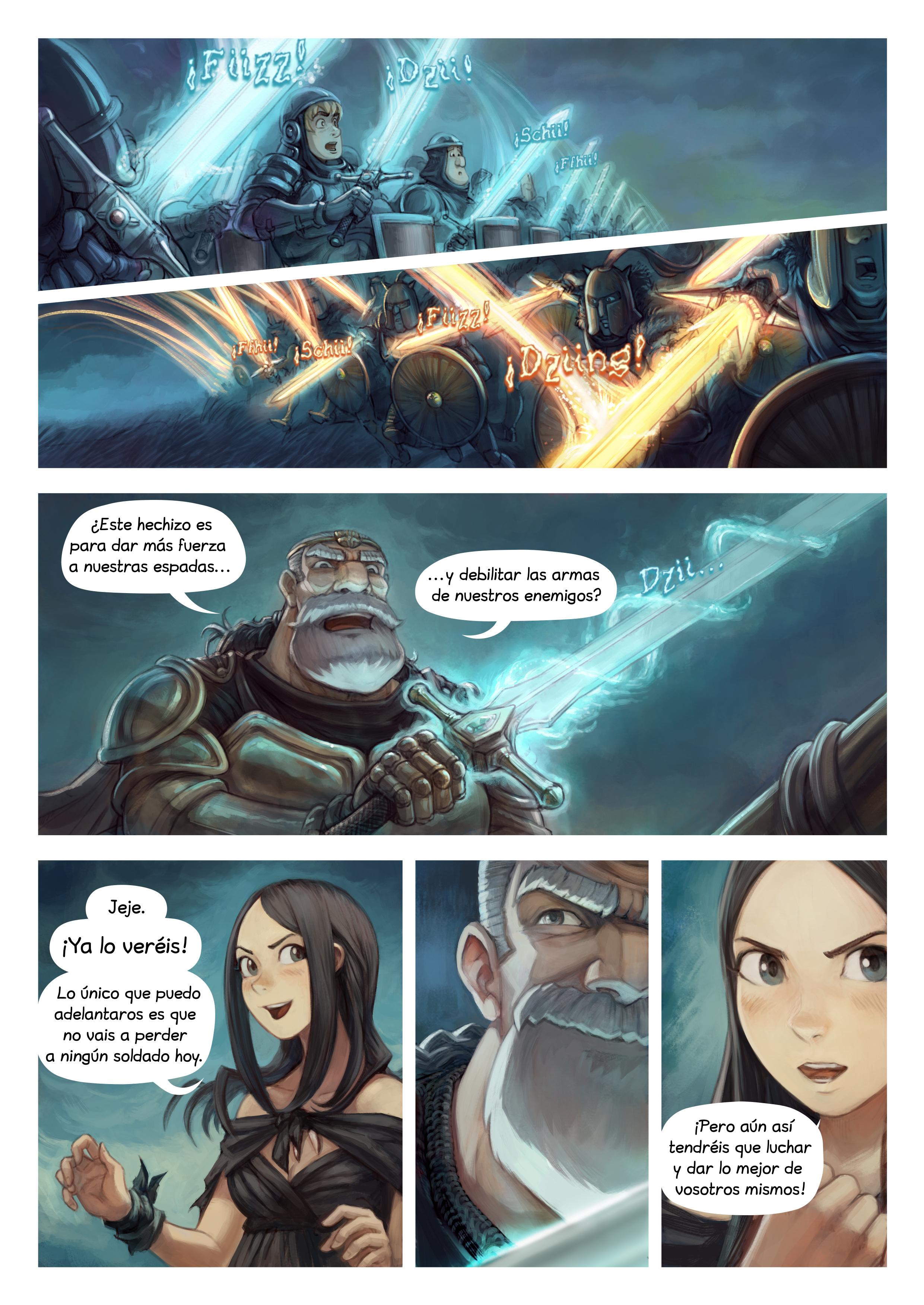 Episodio 33: Hechizo de guerra, Page 3