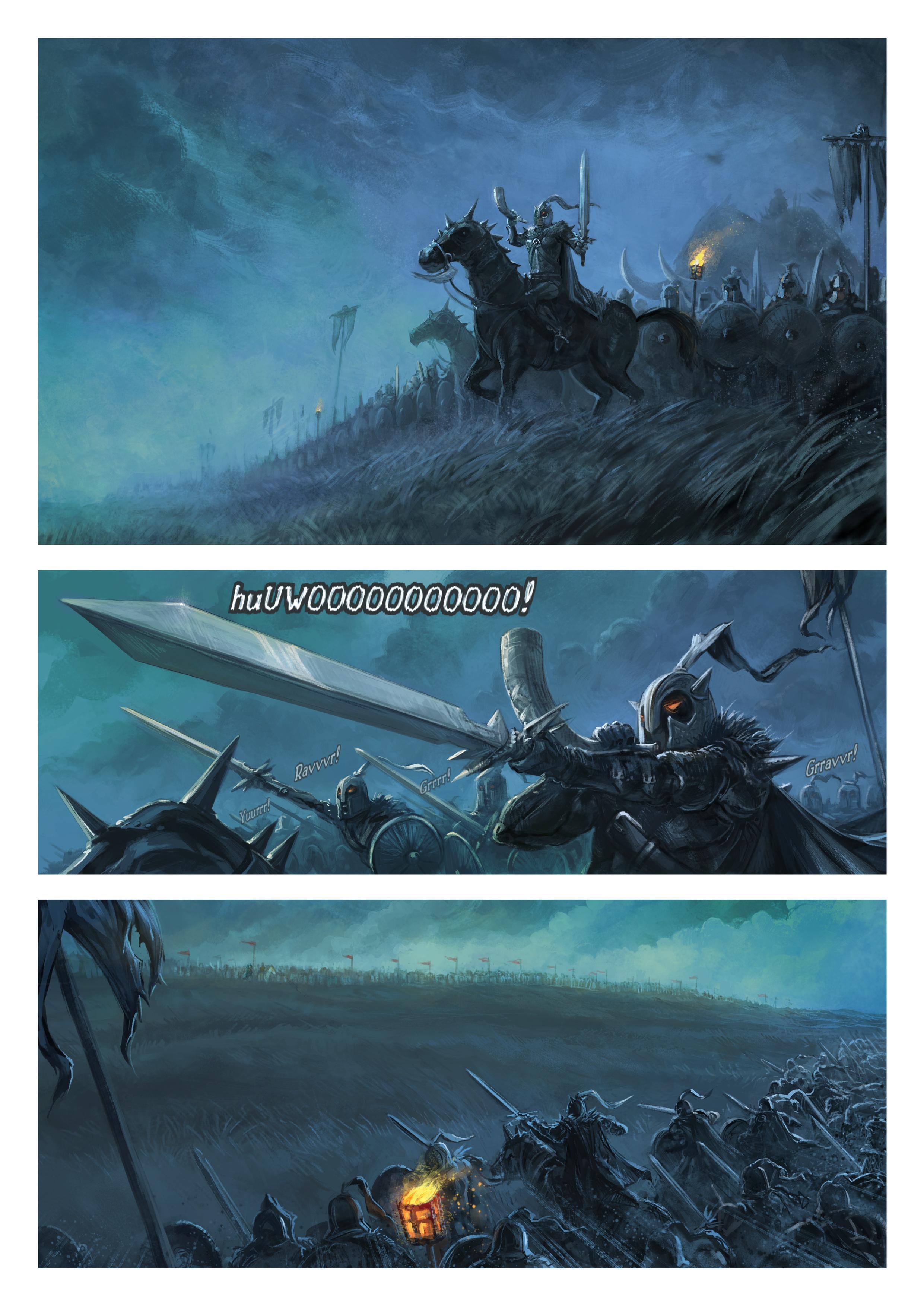 33. rész: A háború varázslata, Page 1