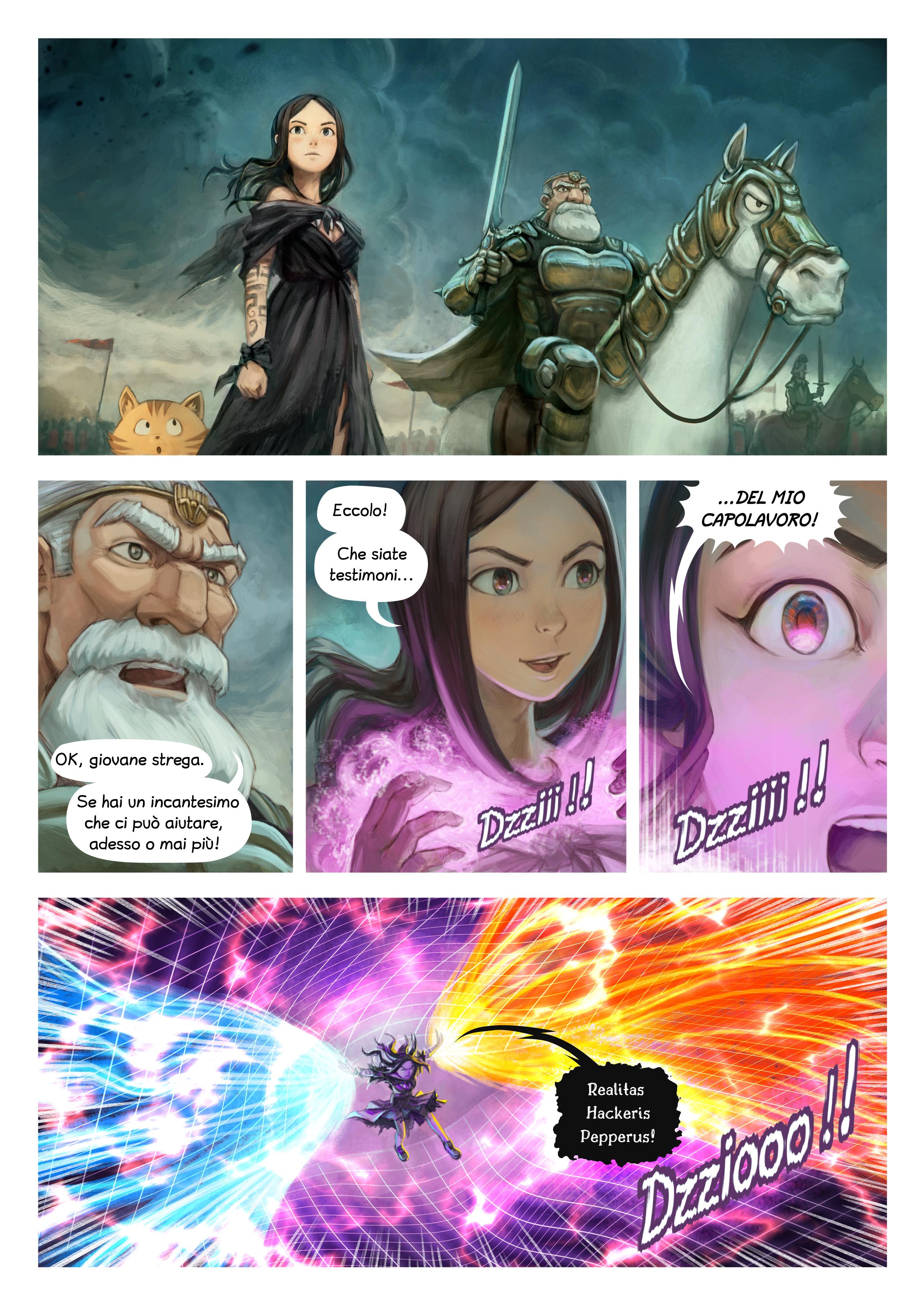 Episodio 33: Incantesimi di guerra, Page 2