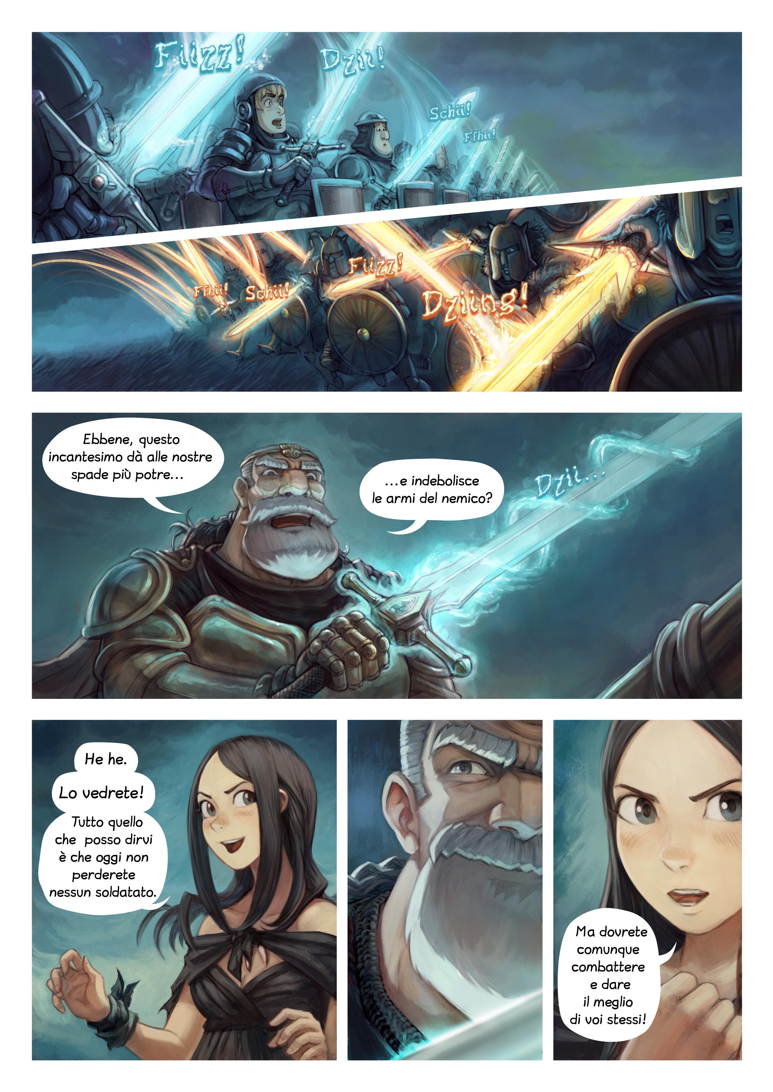Episodio 33: Incantesimi di guerra, Page 3