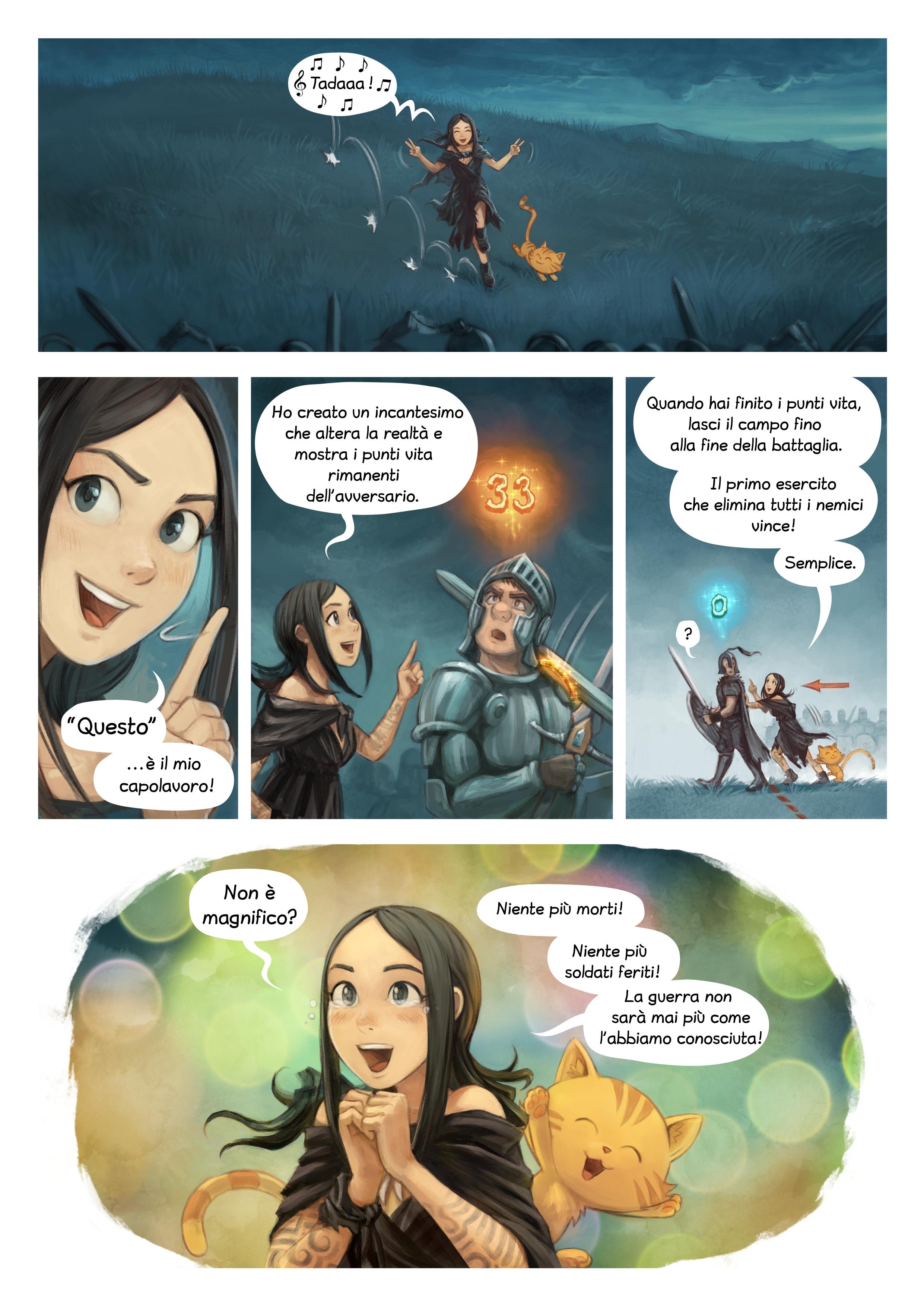 Episodio 33: Incantesimi di guerra, Page 7