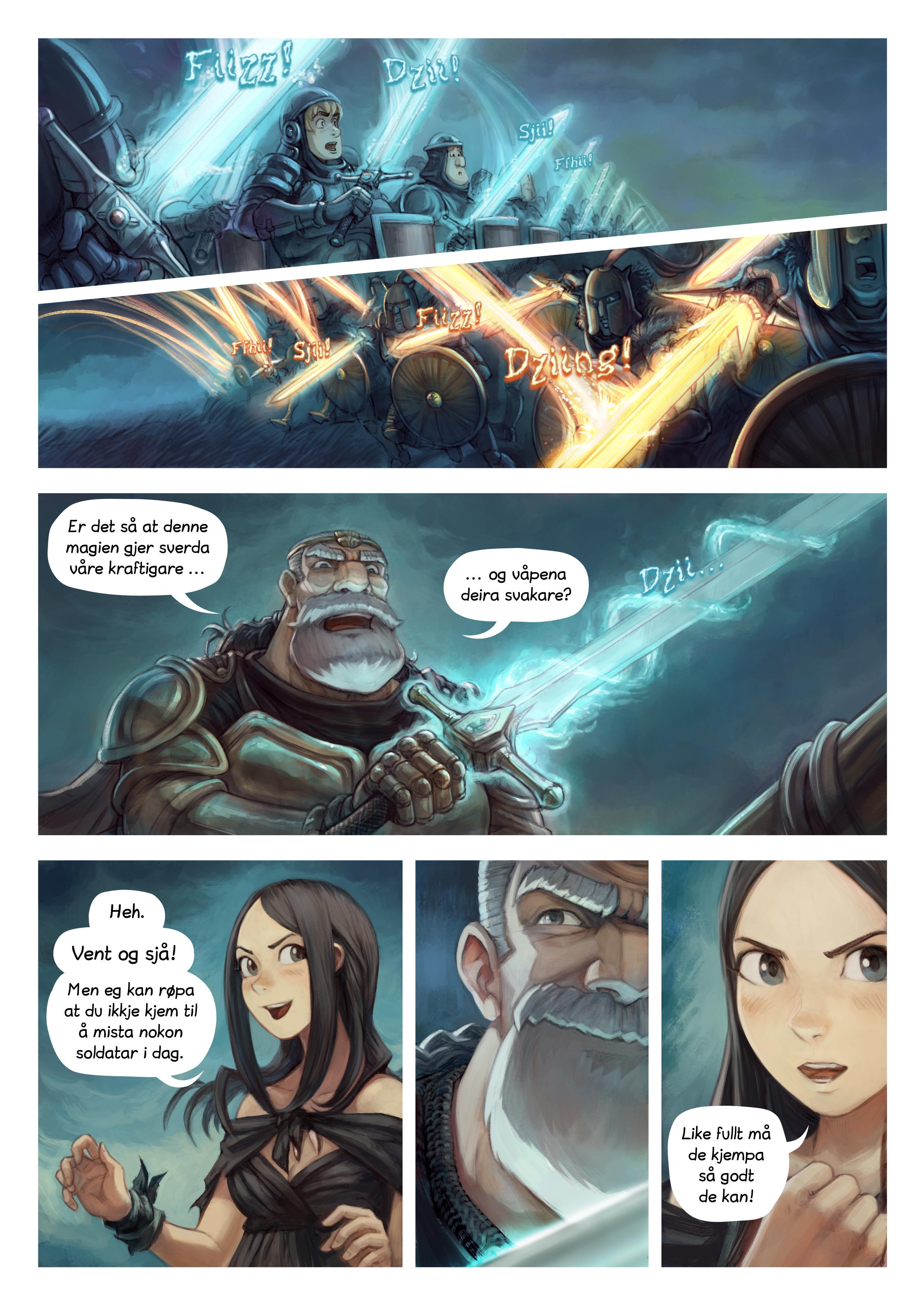Episode 33: Krigsmagi, Side 3