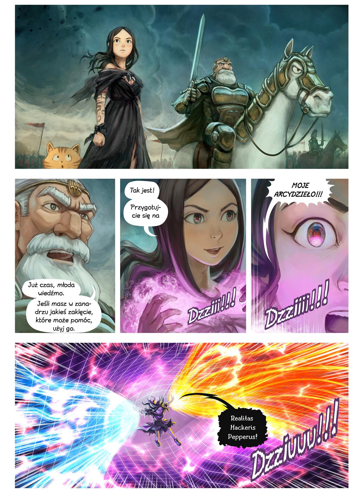 Odcinek 33: Zaklęcie wojny, Page 2
