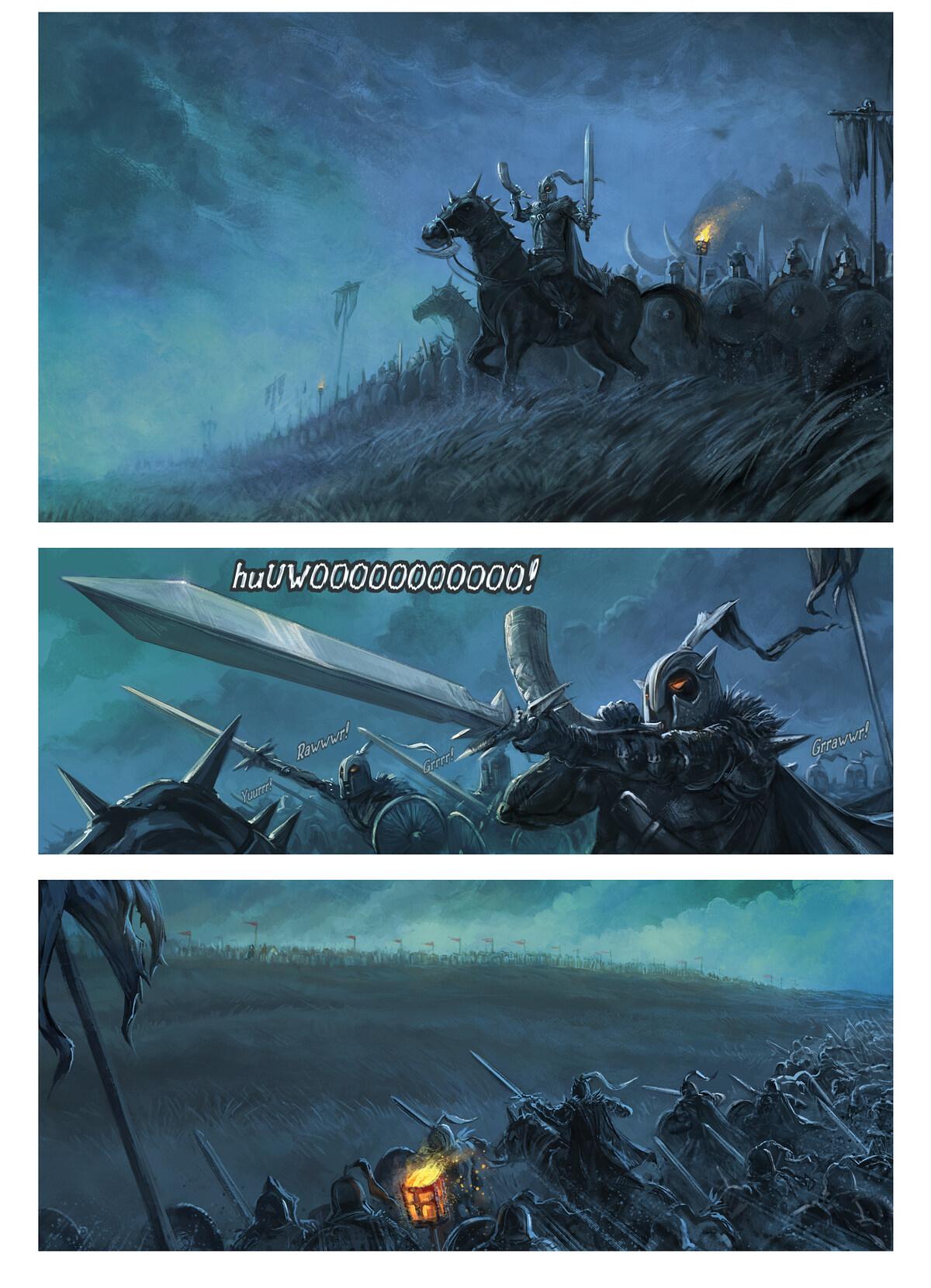33. Bölüm: Savaş Büyüsü, Page 1