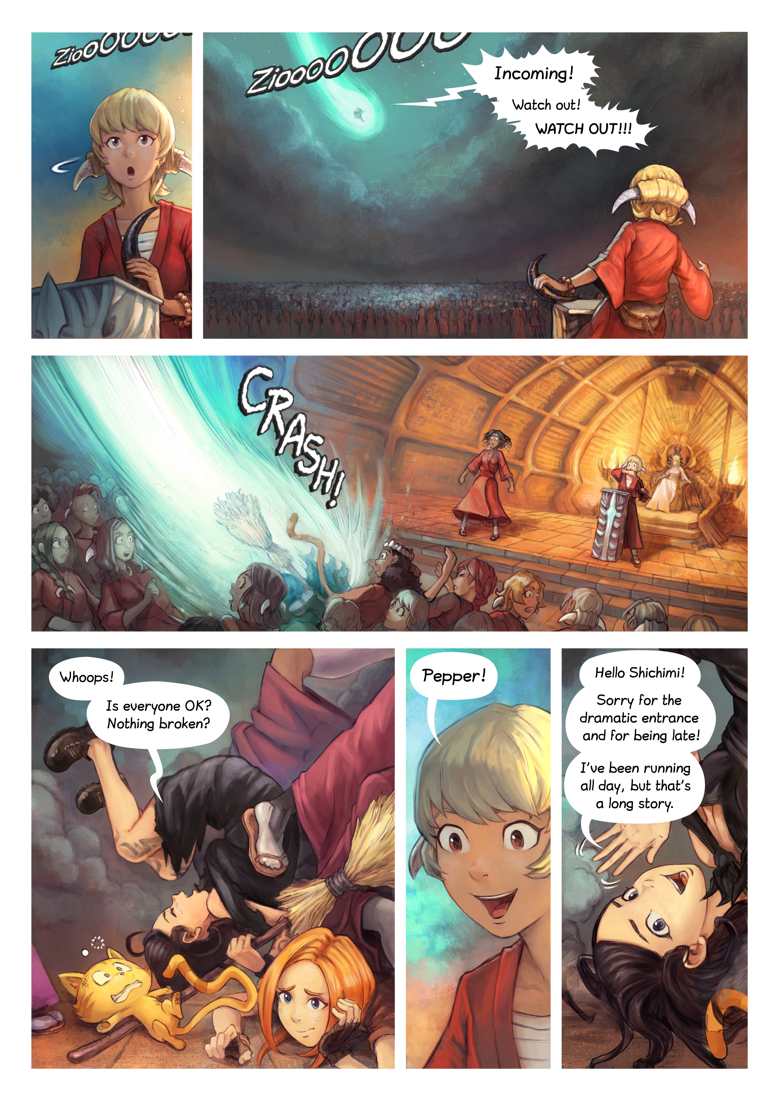 Episode 34: The Knighting of Shichimi, Page 2