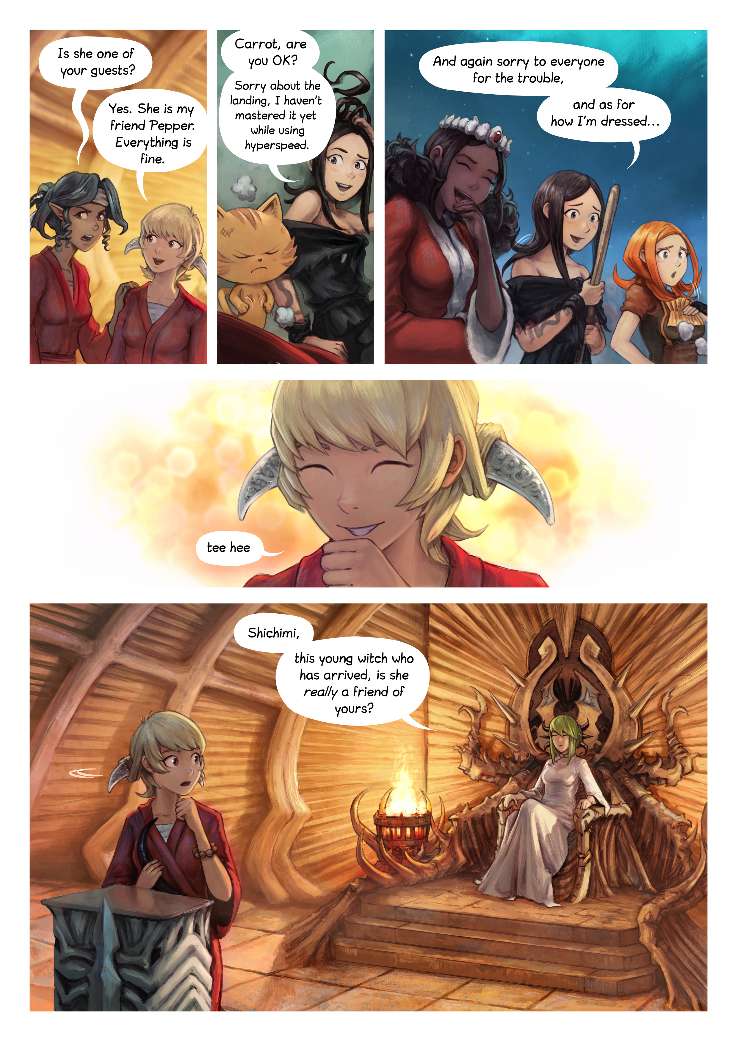 Episode 34: The Knighting of Shichimi, Page 3