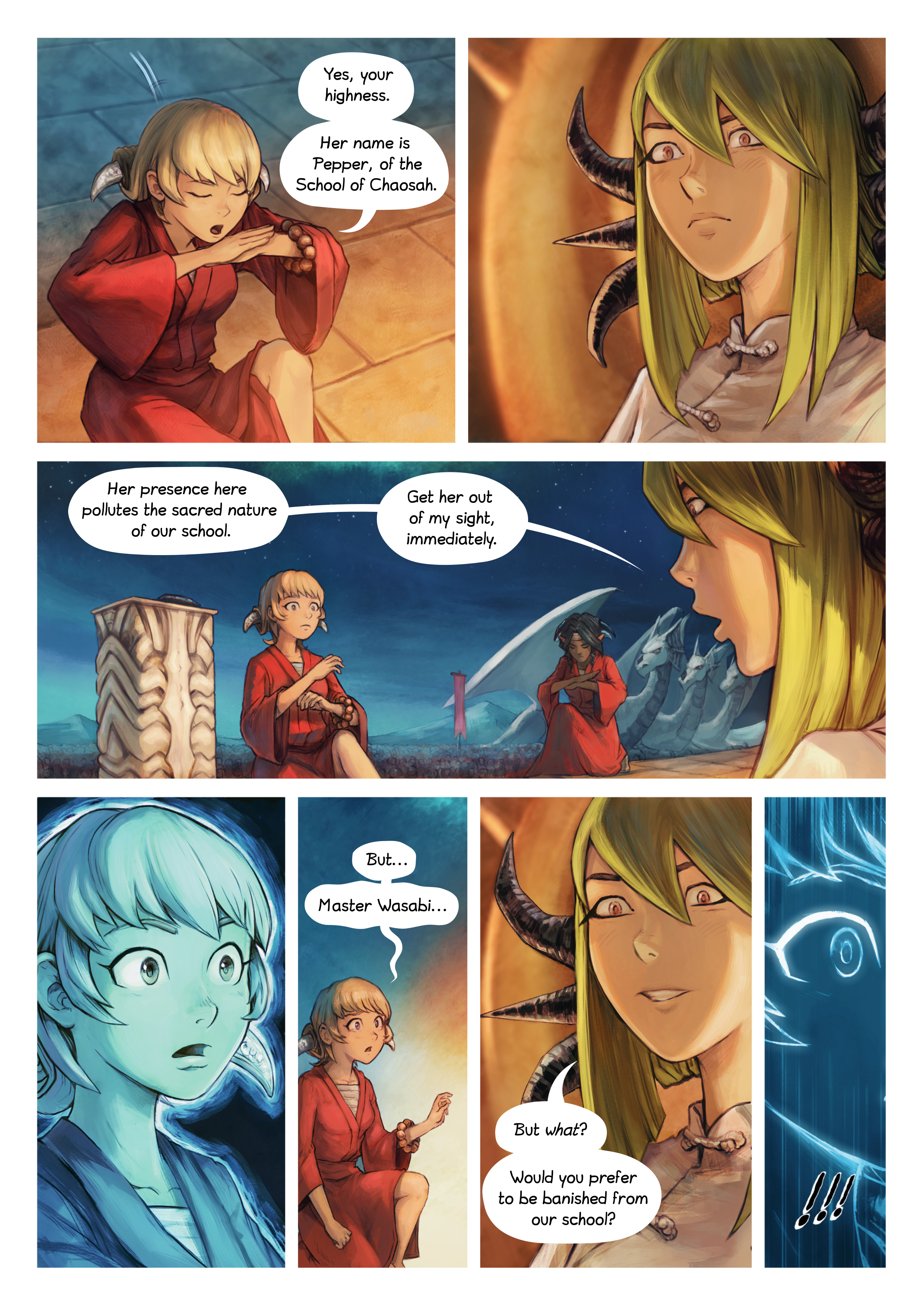 Episode 34: The Knighting of Shichimi, Page 4