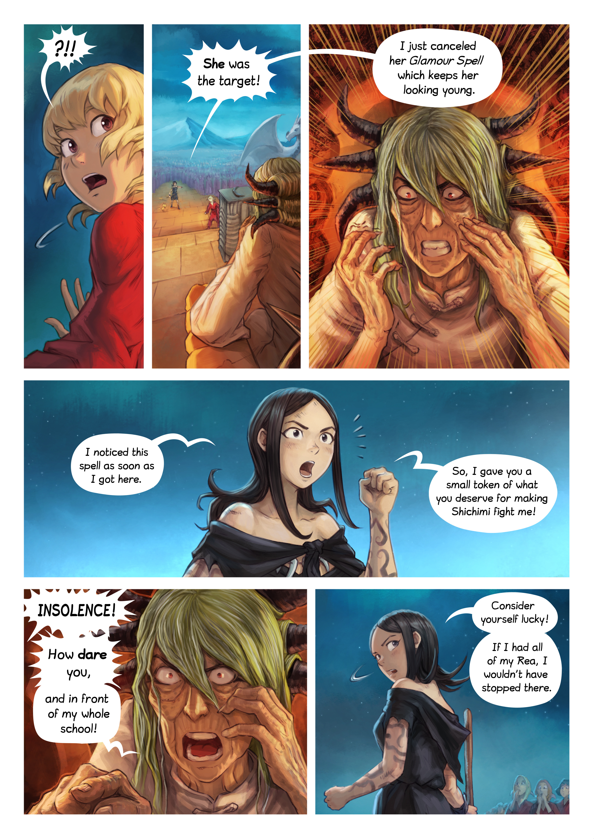 Episode 34: The Knighting of Shichimi, Page 8