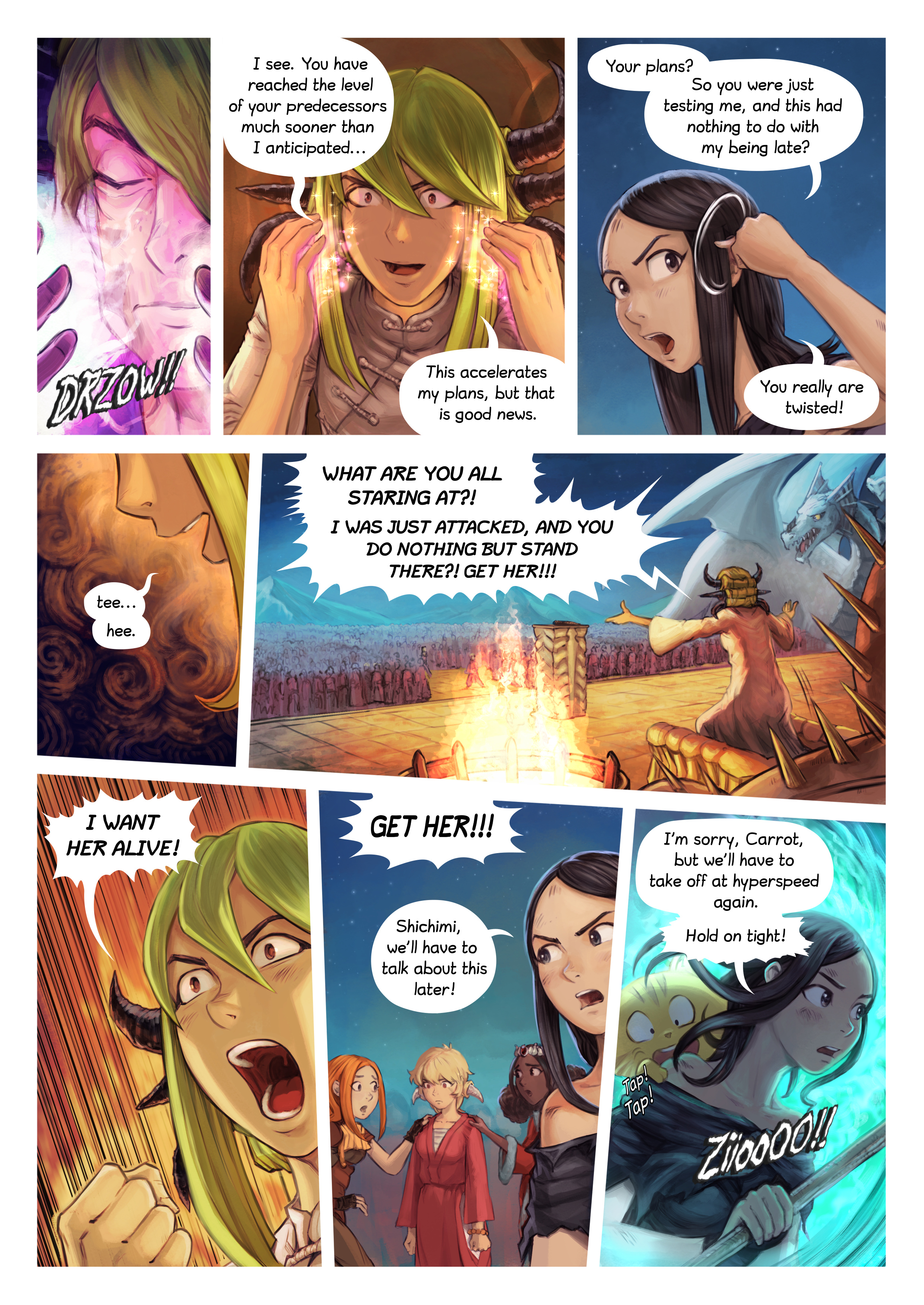 Episode 34: The Knighting of Shichimi, Page 9