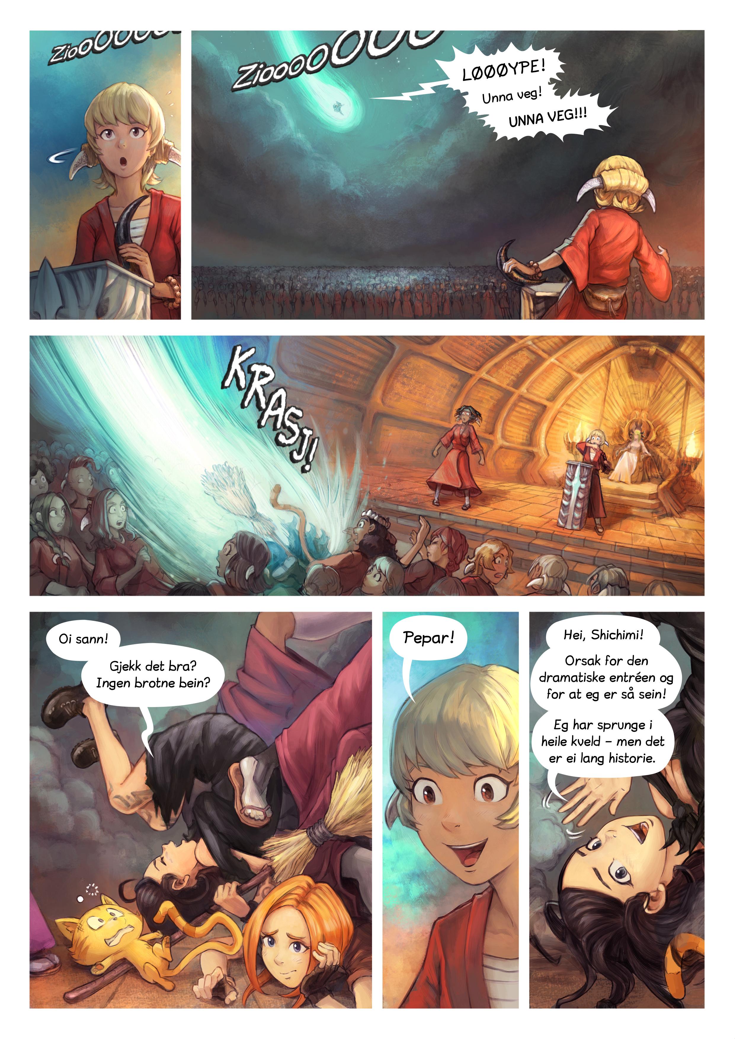 Episode 34: Riddarseremoni for Shichimi, Side 2